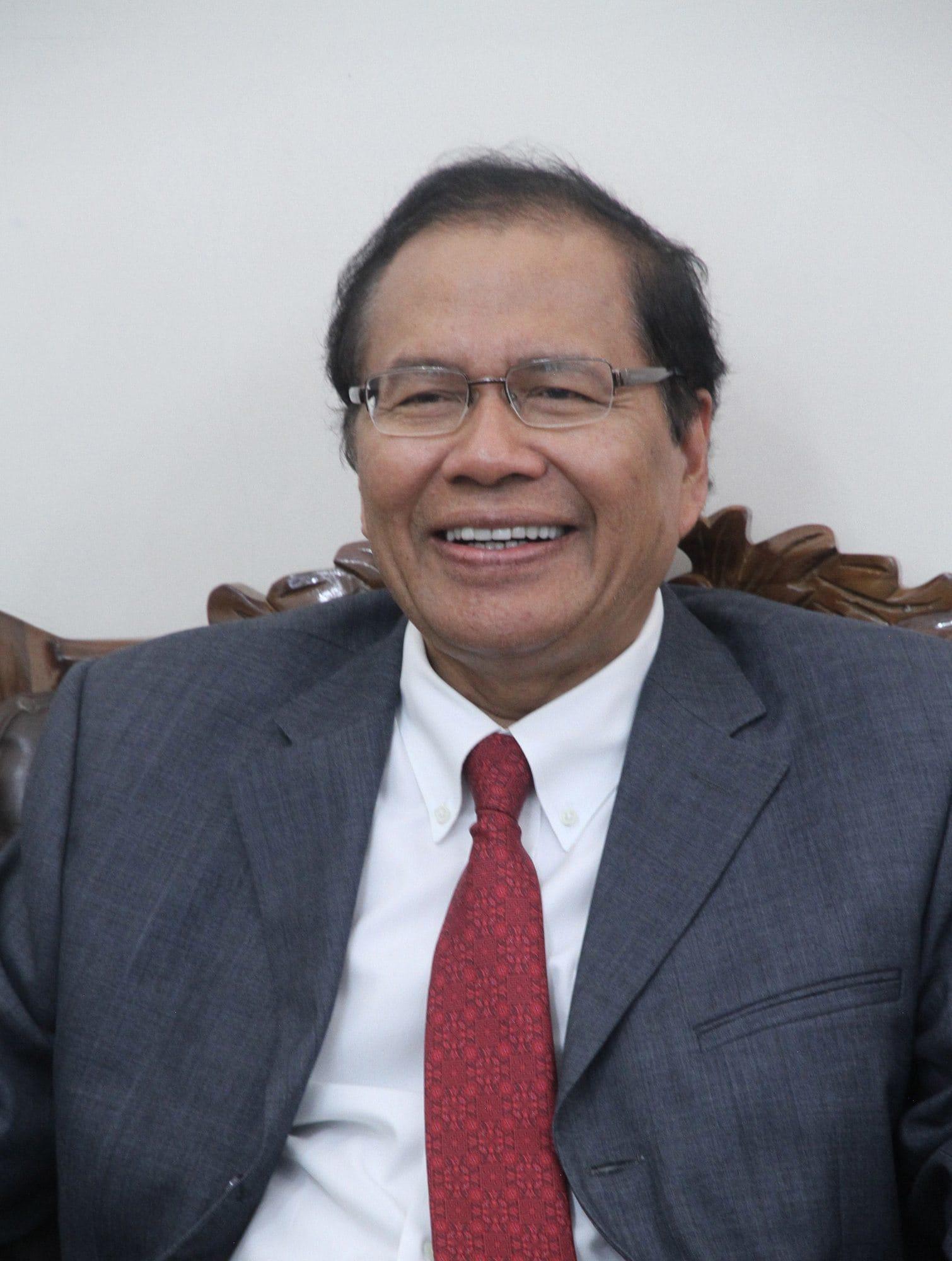 Rizal Ramli Menteri Koordinator Maritim dan Sumber Daya