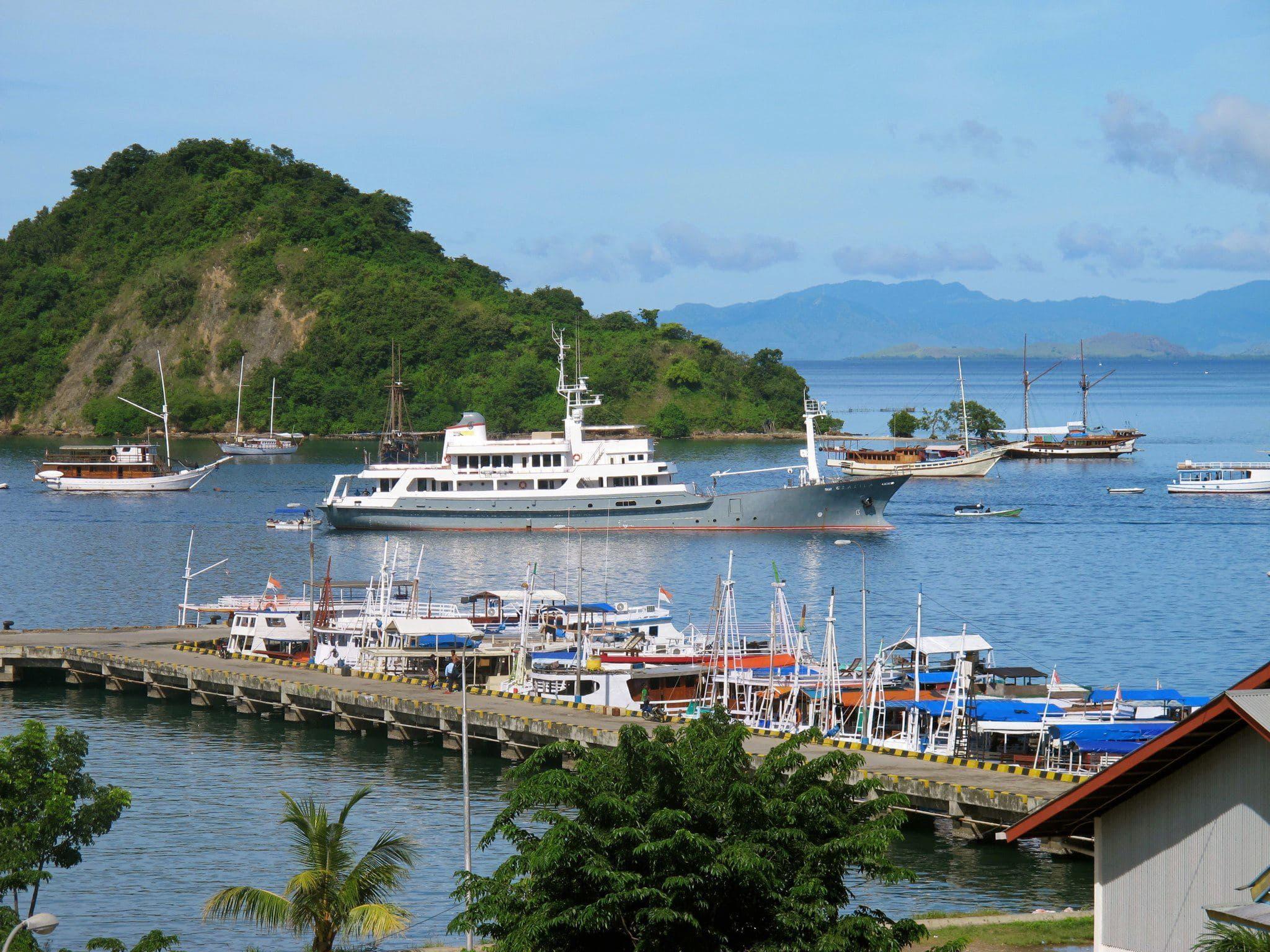 Indahnya Labuan Bajo Kota Pelabuhan Di Flores