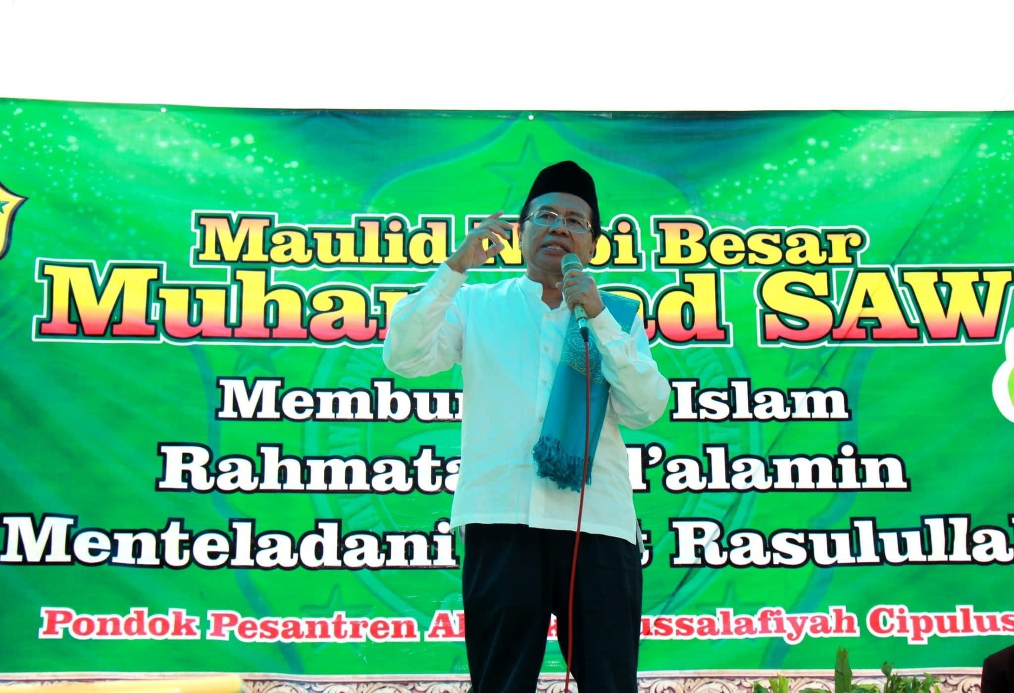 Berkunjung Ke Ponpes Al-hikamussalafiyah, Rizal Ramli Berikan Kunci Sukses