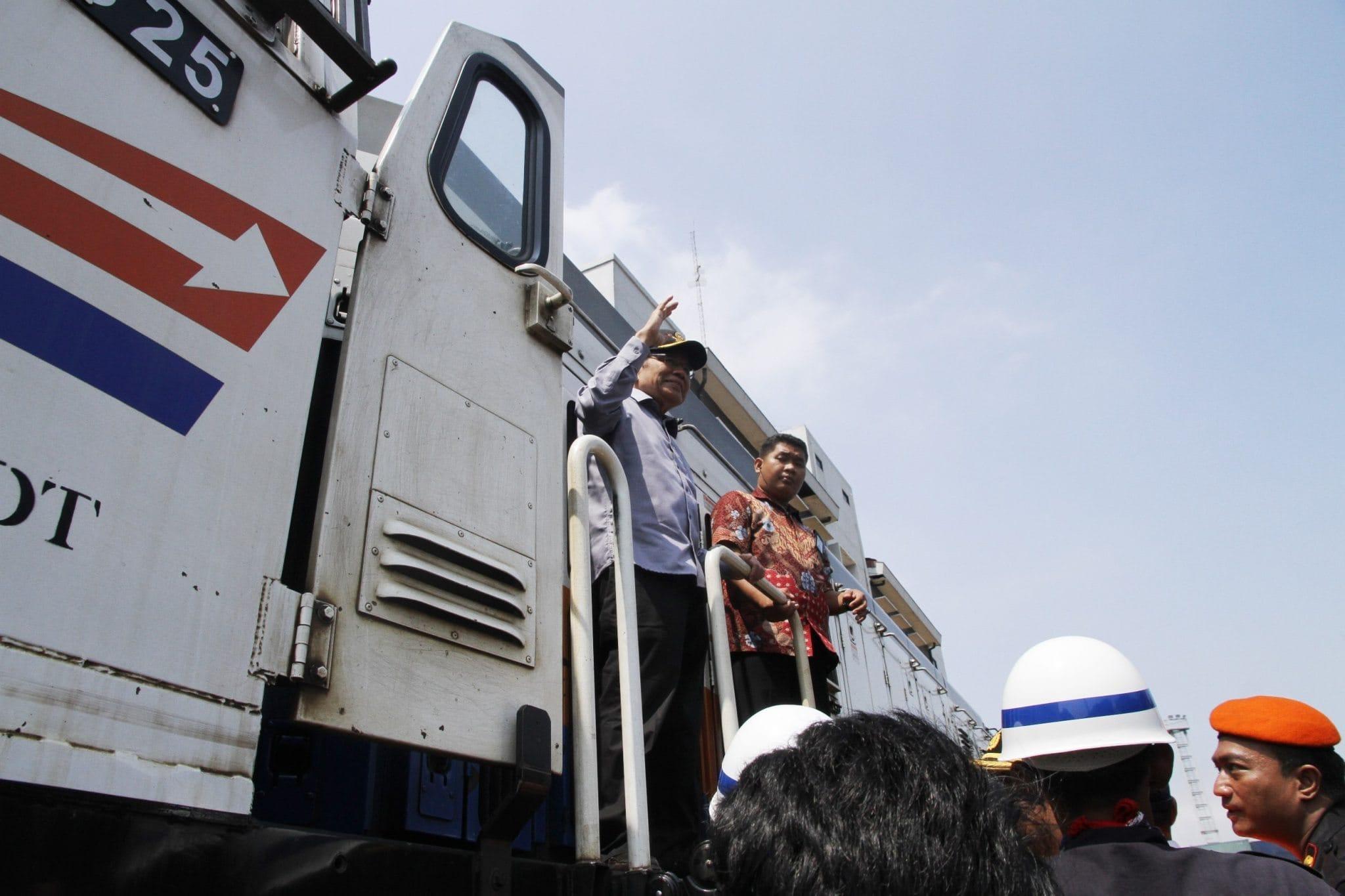 Rizal Ramli Meninjau Kesiapan Kereta Pelabuhan Tanjung Priok