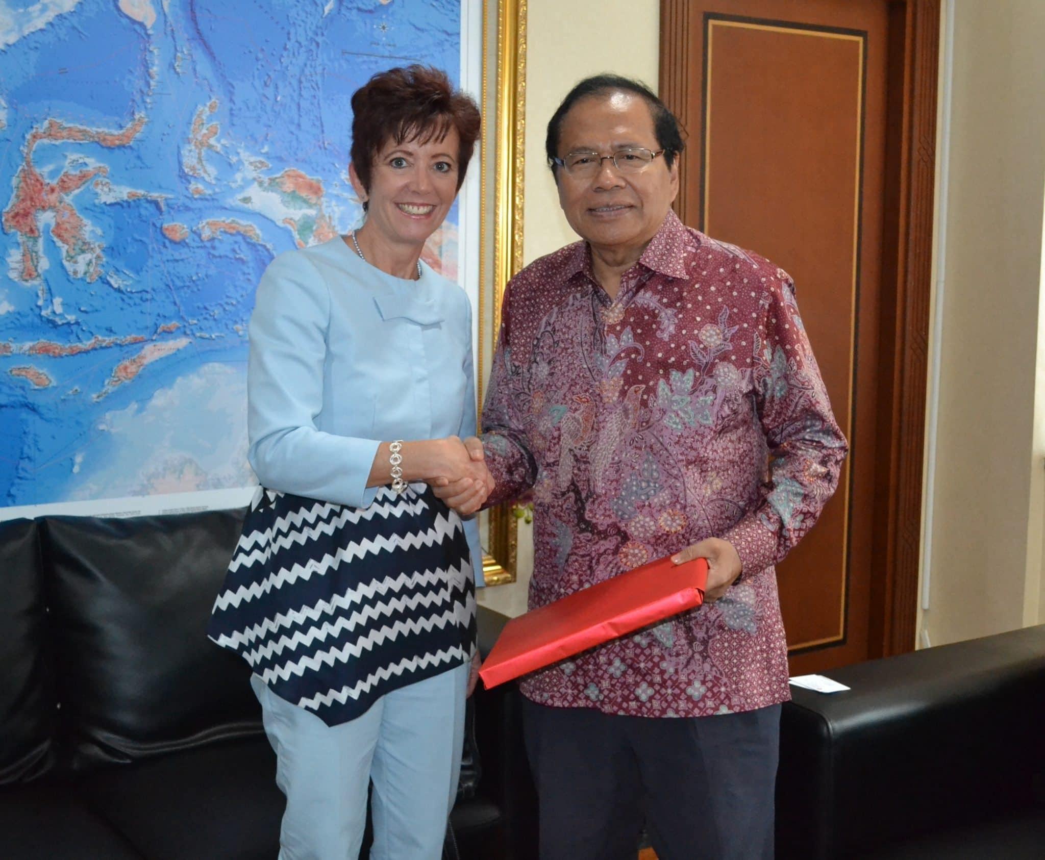 Terima Kunjungan Dubes Swiss, Rizal Ramli Bahas Pembangunan STP Mandalika