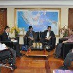 5. Menko Maritim dan Sumber Daya Rizal Ramli (kanan) menerima kunjungan Dubes Malaysia untuk Indonesia Dato Seri Zahrain di ruang kerja menko Gd. BPPT Jakarta 16-2-2016.