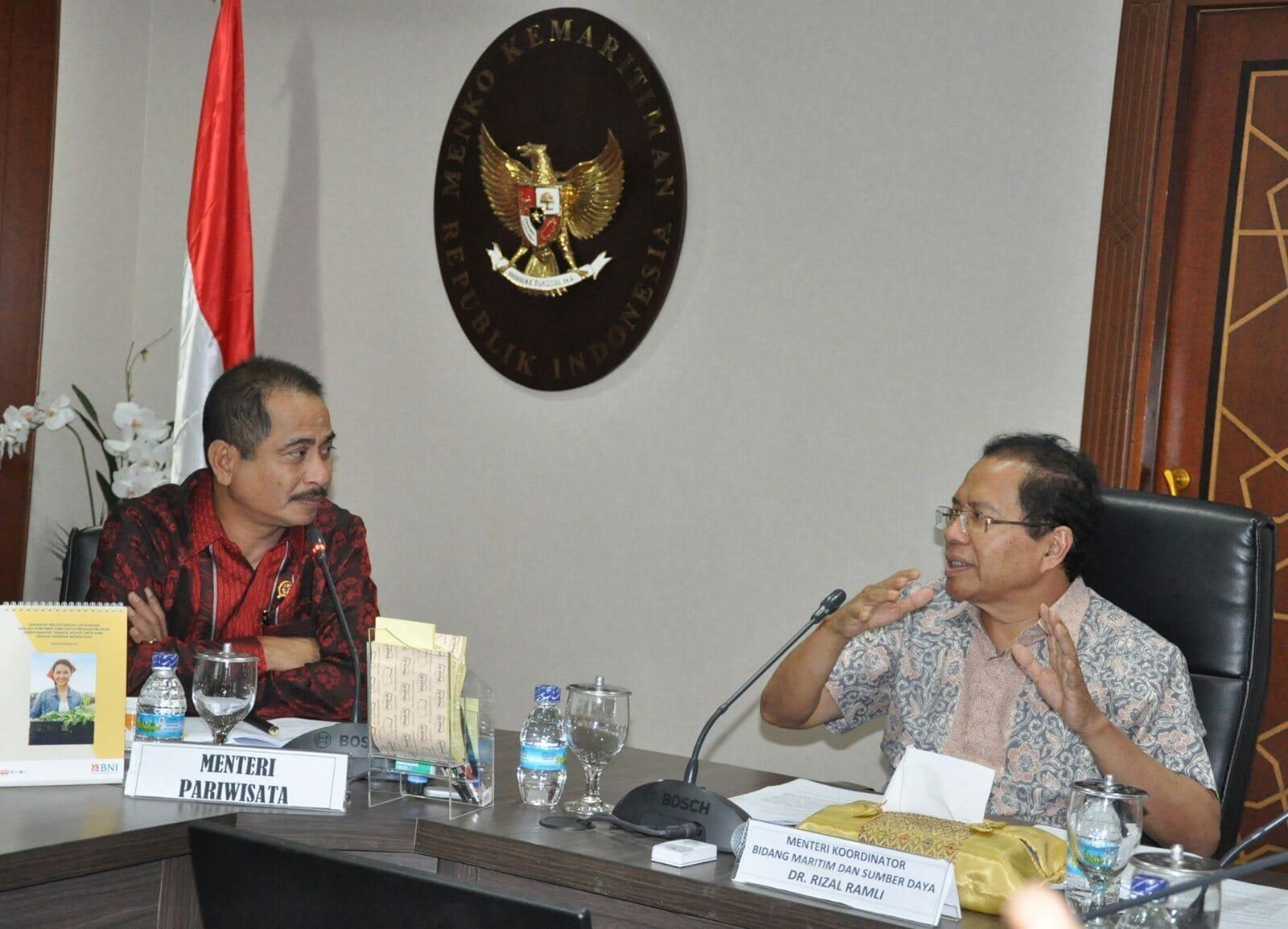Rizal Pimpin Rakor Pembentukan Badan Otorita Kawasan Danau Toba