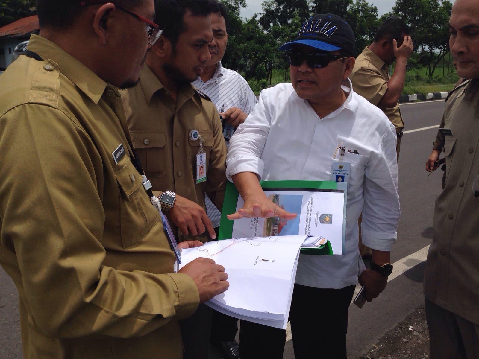Safri Tinjau Lokasi Pembangunan STP Mandalika