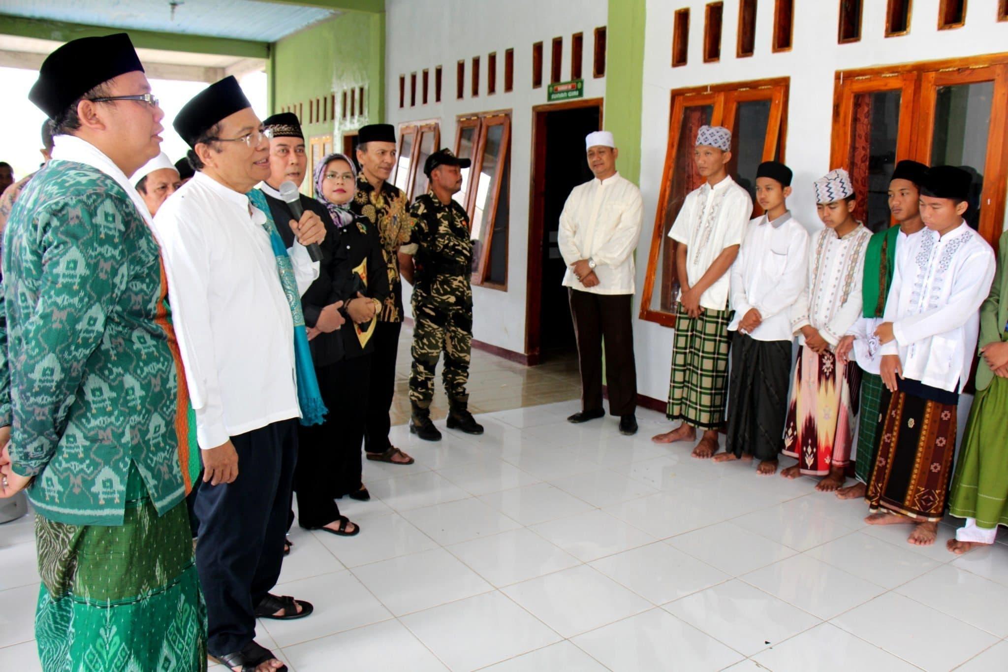 Berkunjung Ke Ponpes, Rizal Ramli Berikan Kunci Sukses
