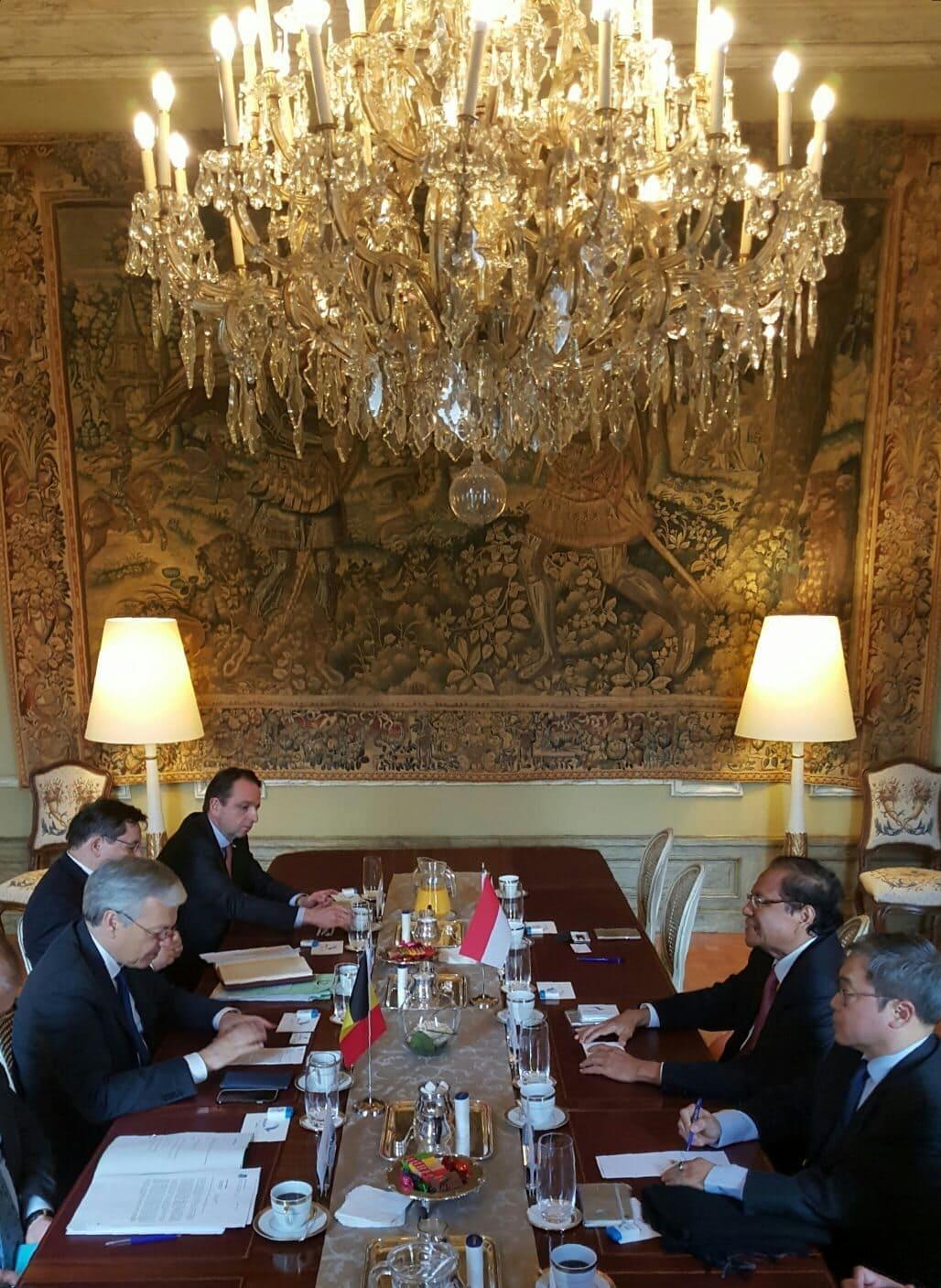 Belgia Tertarik Kerjasama dengan Indonesia di Bidang Kemaritiman