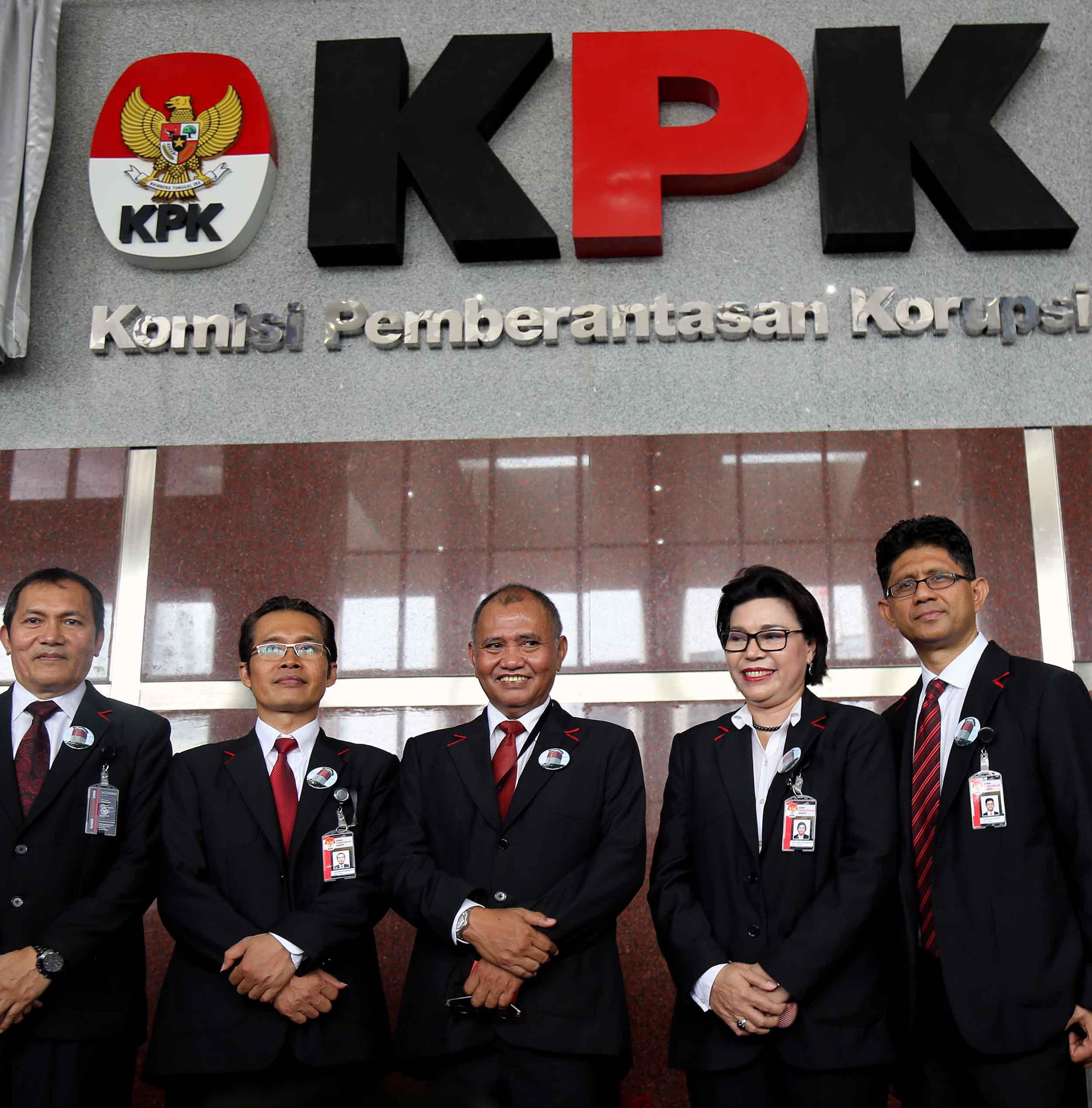 Rizal Hadiri Peresmian Gedung Baru KPK