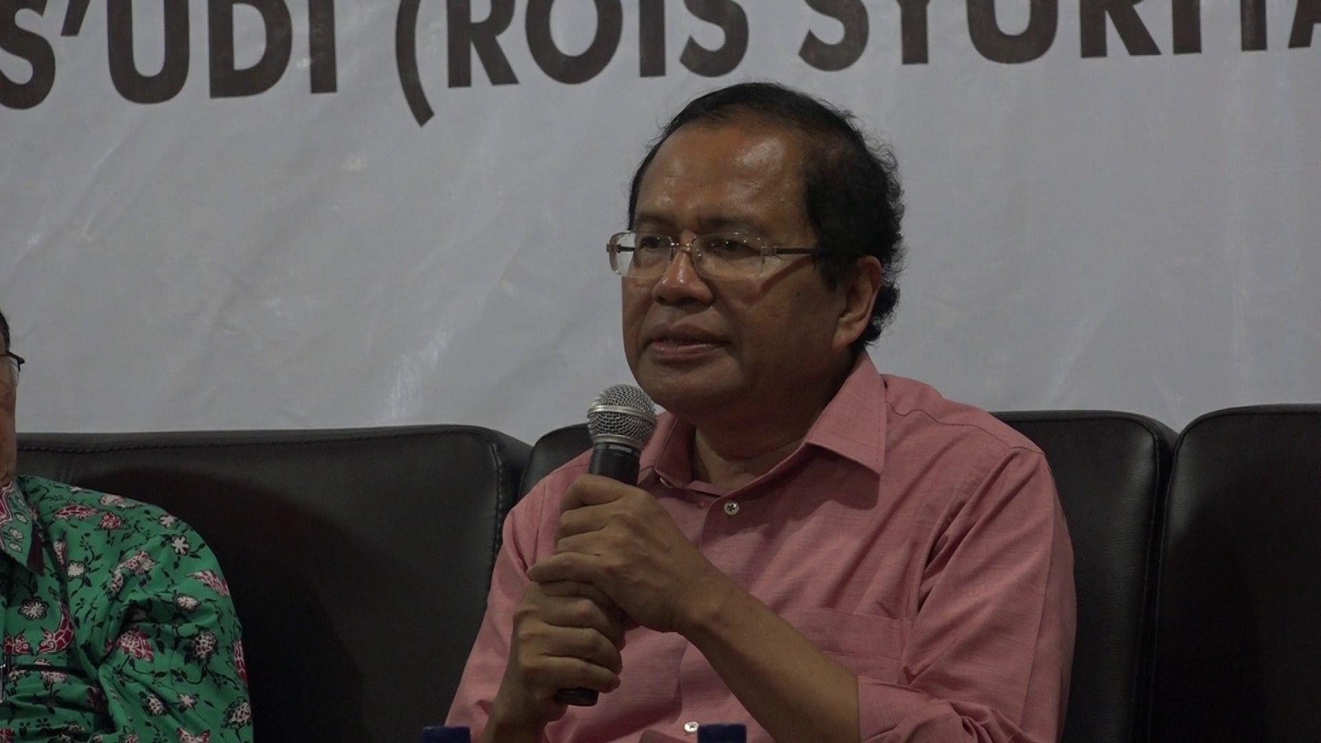 Rizal Ramli hadiri Haul Gus Dur ke-6 di MMD Initiative Jakarta