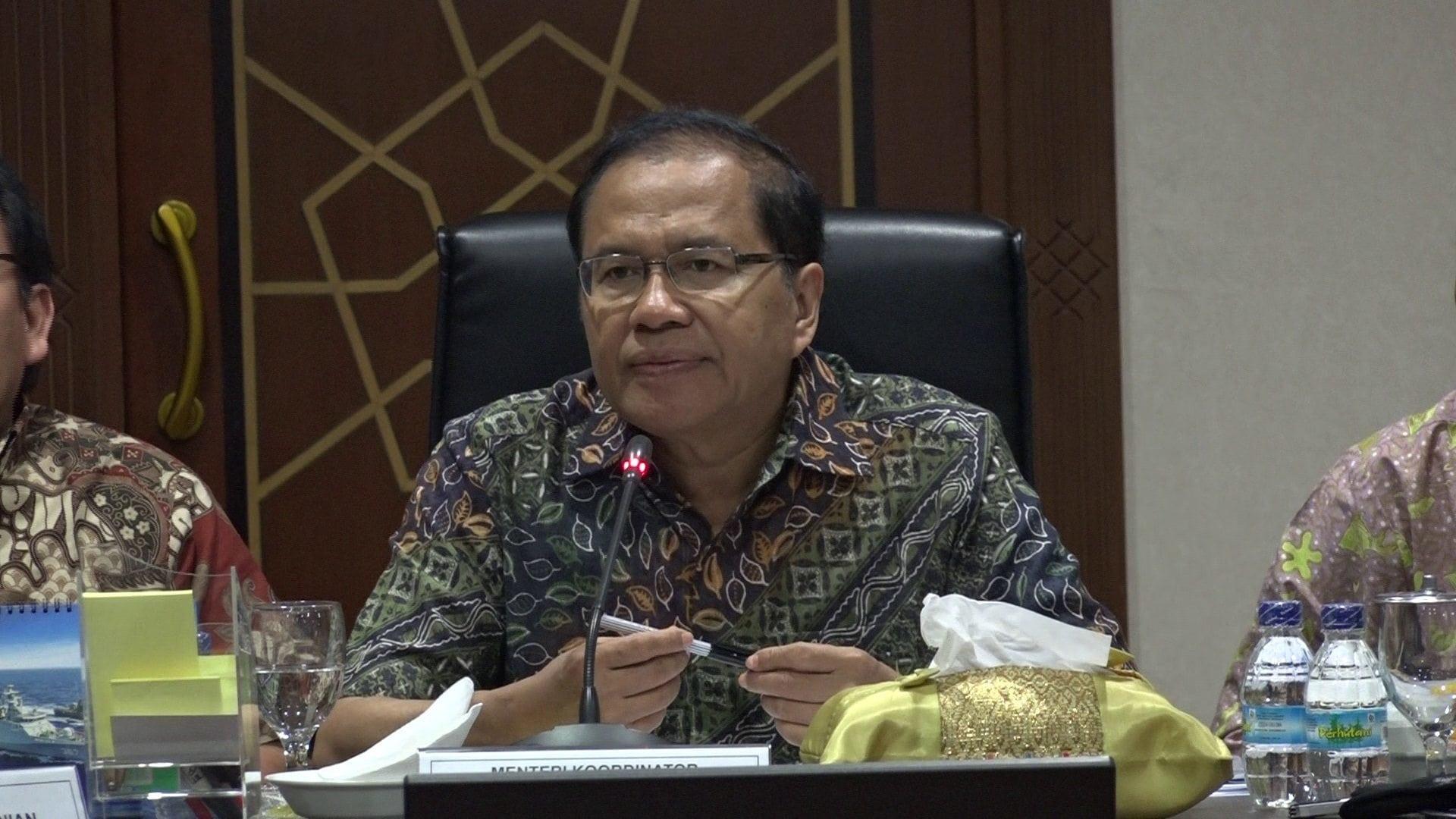 Rizal Ramli Memimpin Rapat Koordinasi Soal Pangan