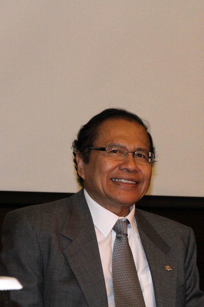 Menteri Koordinator Maritim dan Sumber Daya, Rizal Ramli
