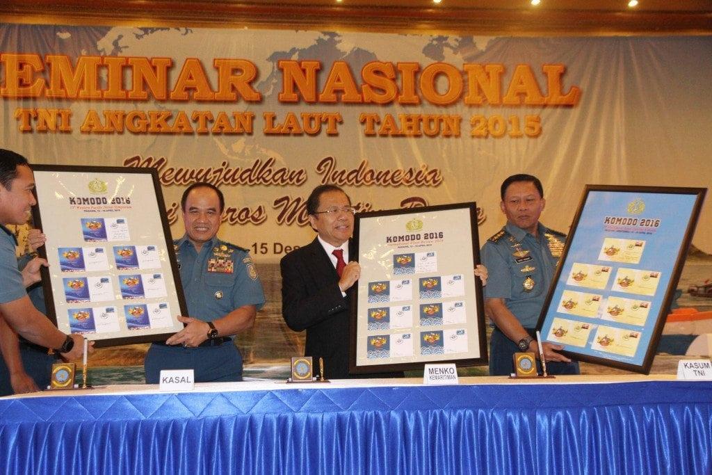 Rizal Ramli Menghadiri Seminar Nasional TNI AL