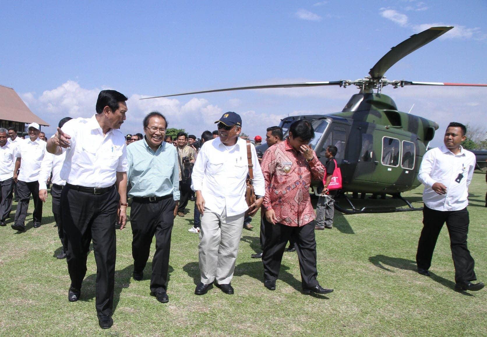 Rapat Koordinasi Pembentukan Badan Otorita Pariwisata Danau Toba