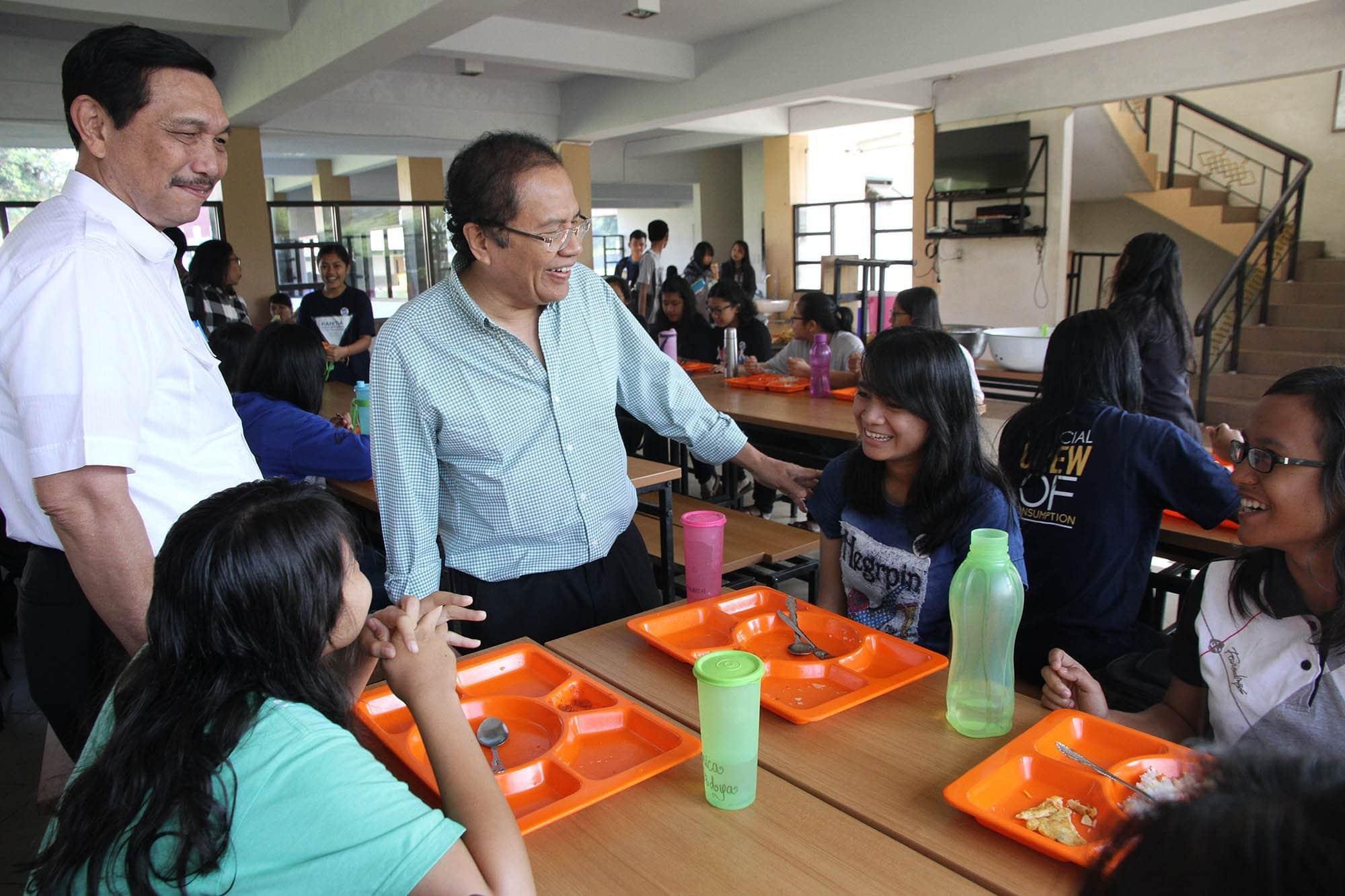 Rizal Ramli Berbincang Bersama Mahasiswa