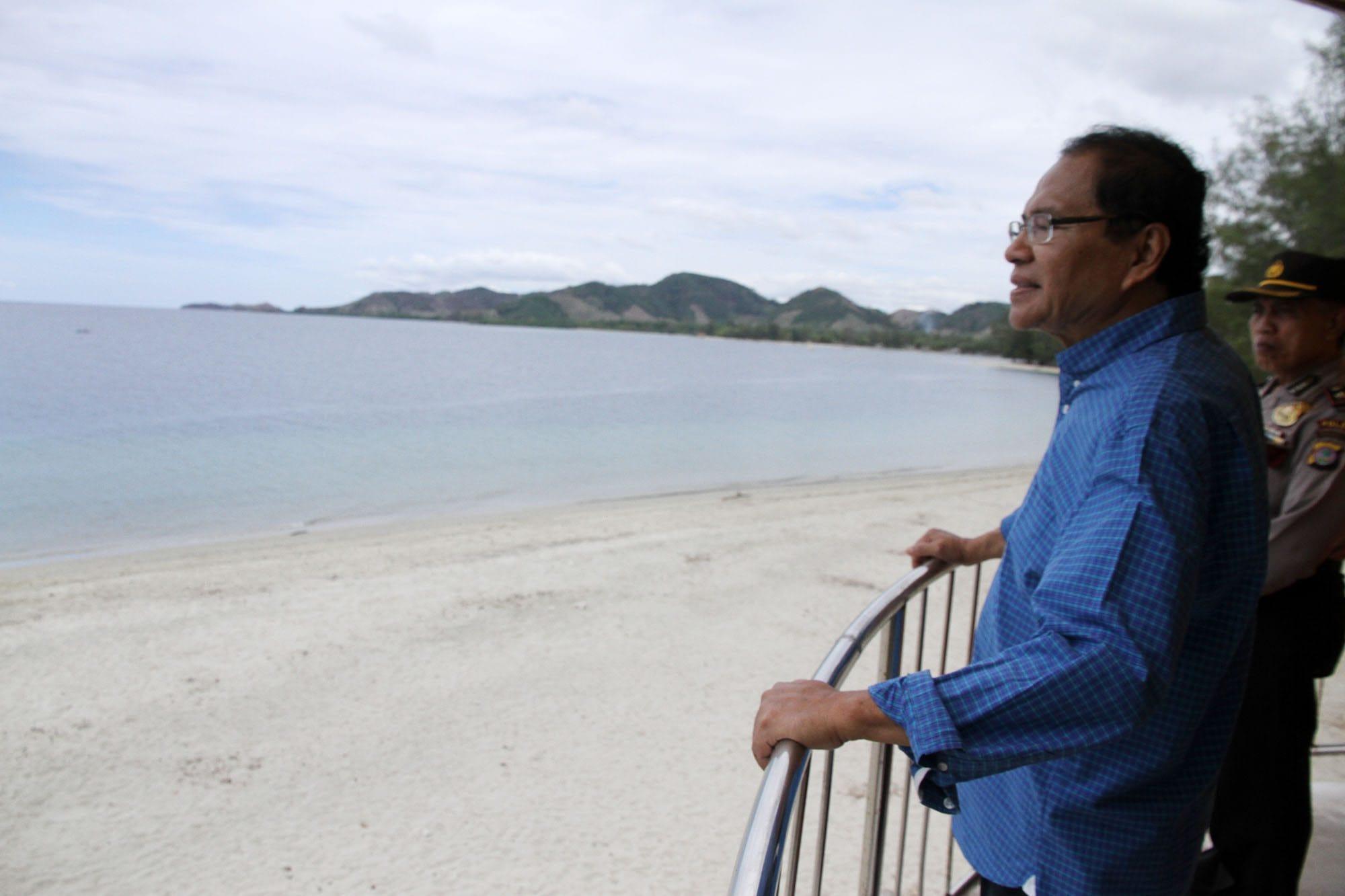 Kunjungan Menko Rizal ke Pulau Cinta