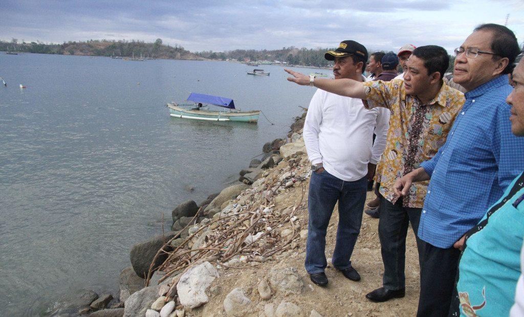 Rizal Ramli Tinjau Pembangunan Sodetan Sungai Tilamuta