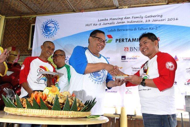 Safri Burhanuddin Hadiri HUT Ke-2 Jurnalis Joran
