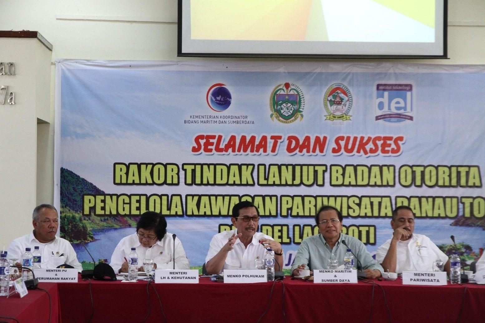 Komitmen Rizal Ramli Untuk Membentuk Badan Otorita Danau Toba