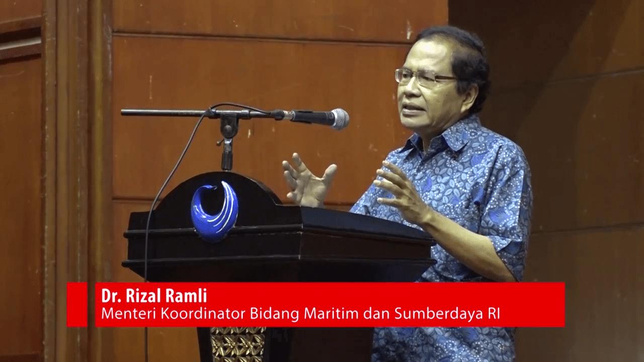 Rizal Ramli menghadiri Dialog Kebangsaan IA ITB 1