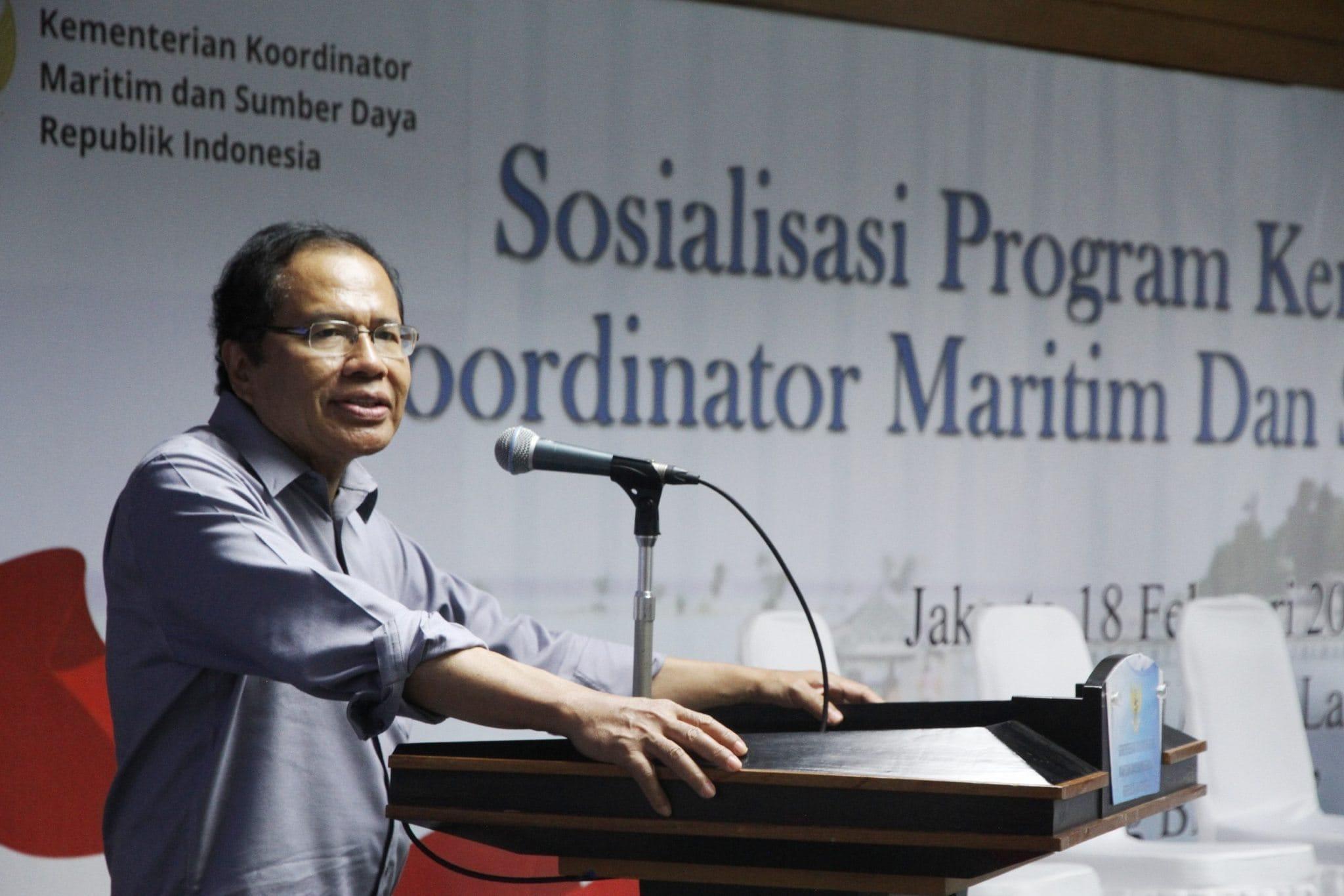 Sosialisasi Program Kemenko Maritim dan Sumber Daya