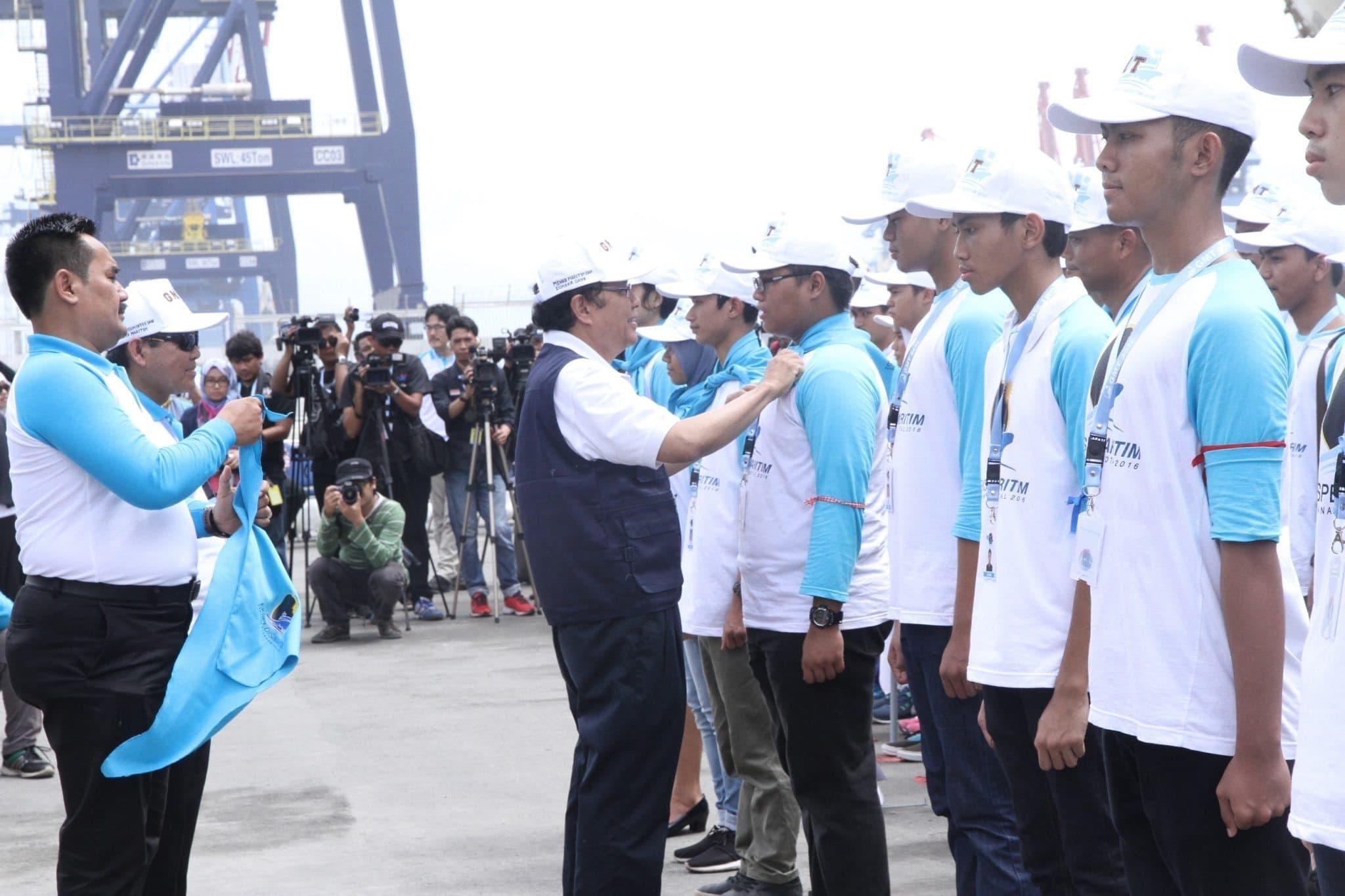 Menko Rizal Melepas Peserta Ekspedisi Maritim GMT 2016