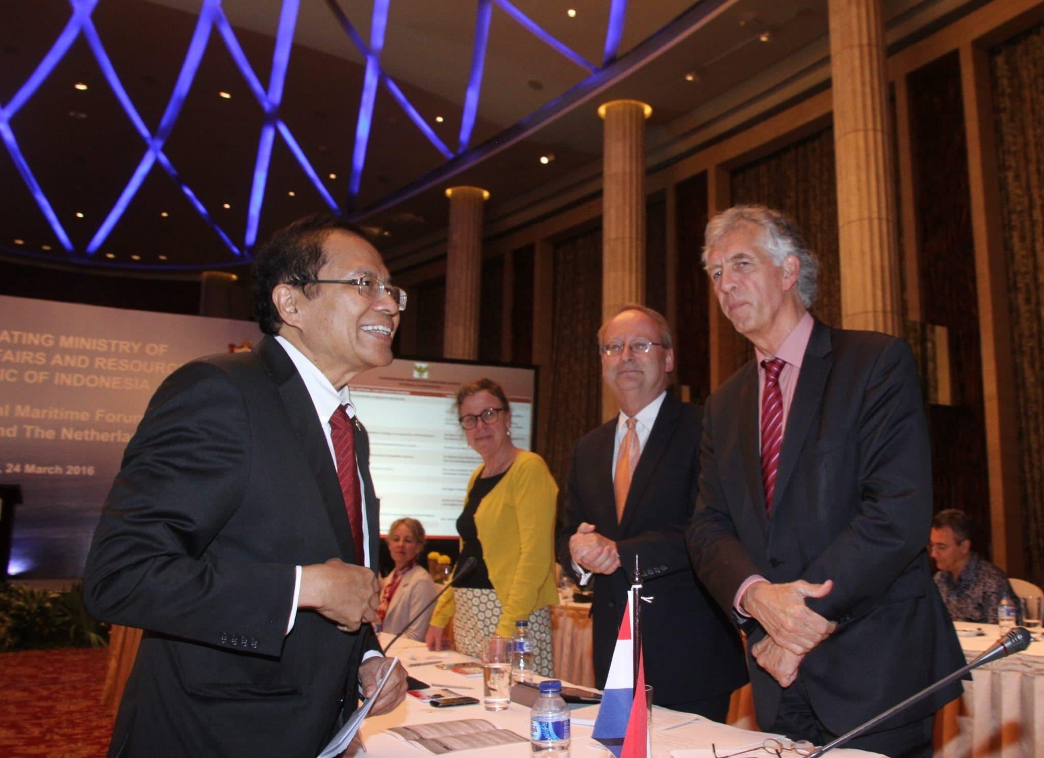 Pertemuan Bilateral Indonesia – Belanda