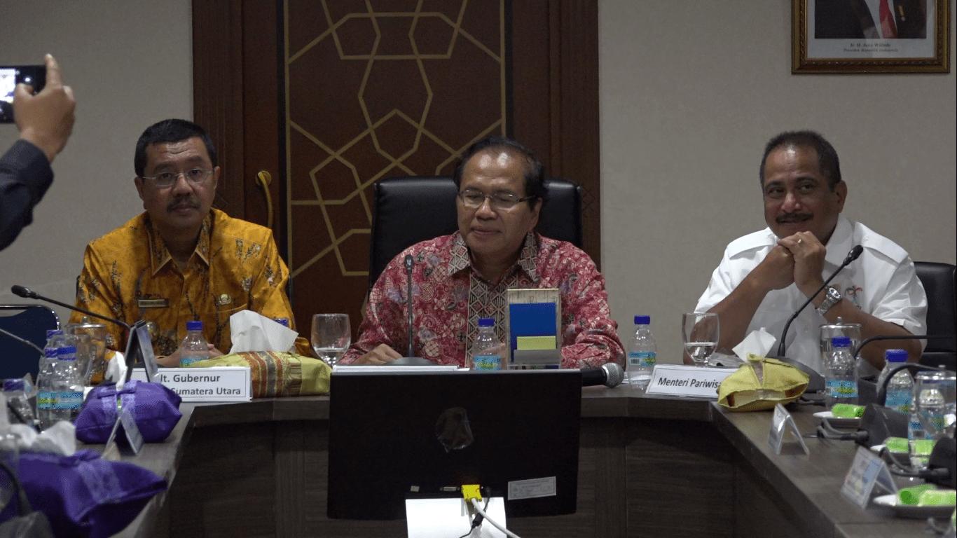 RR Pimpin Rapat Koordinasi Lanjutan Badan Otorita Danau Toba