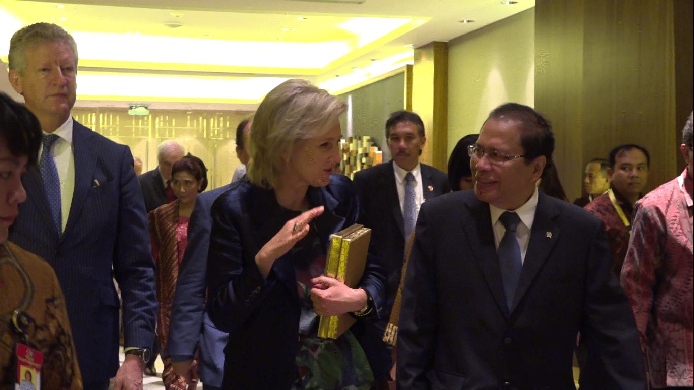 Rizal Ramli hadiri 'Belgia-Indonesia Maritime Summit'