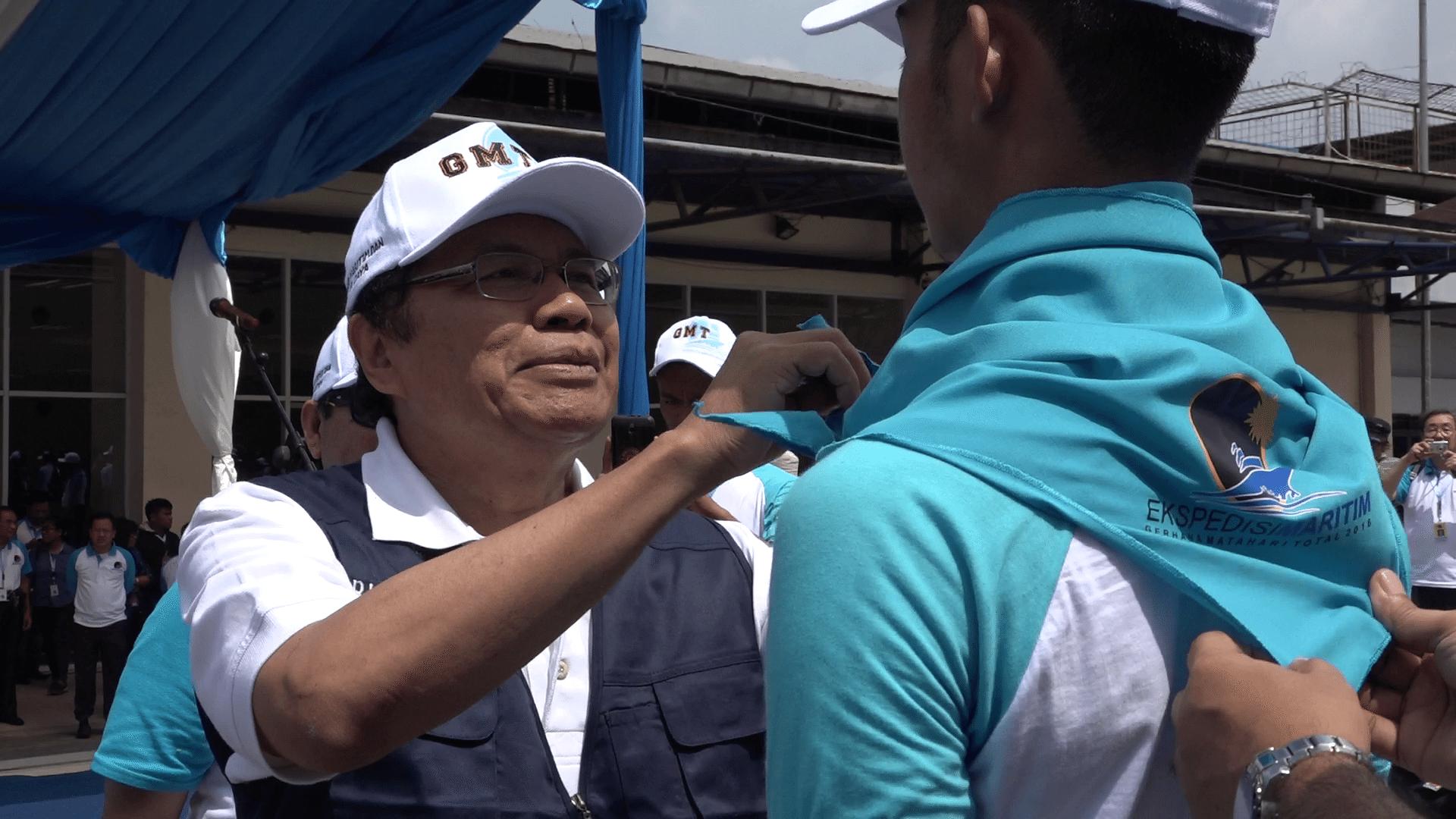 Rizal Ramli Lepas Peserta Ekspedisi Maritim GMT 2016
