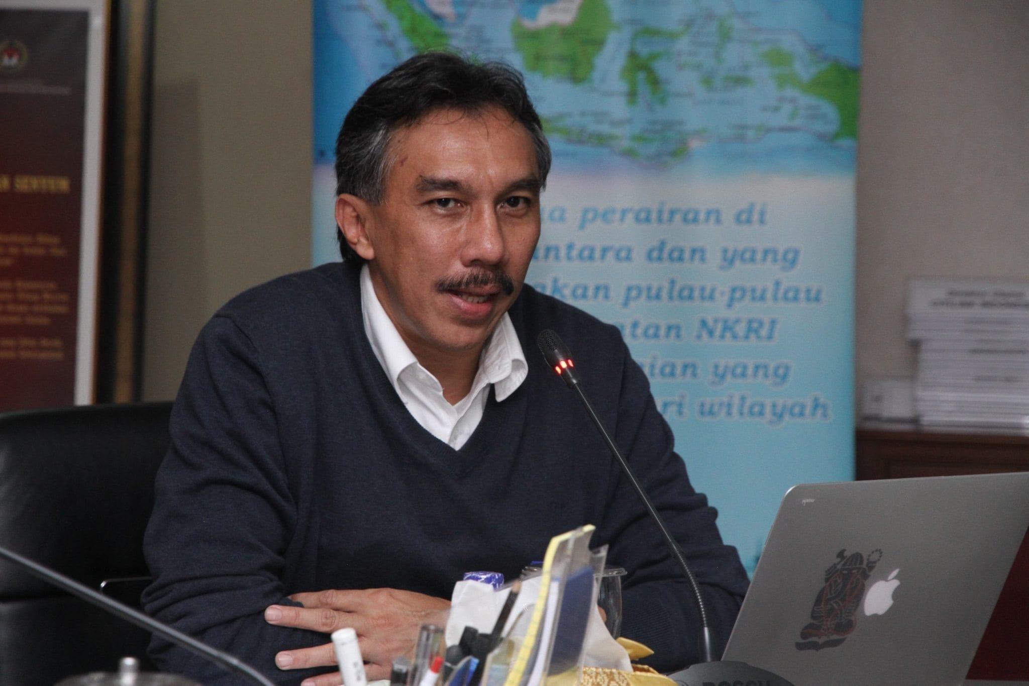 Deputi Bidang Infrastruktur Kemaritiman, Ridwan Jamaludin.Maritim/YSN