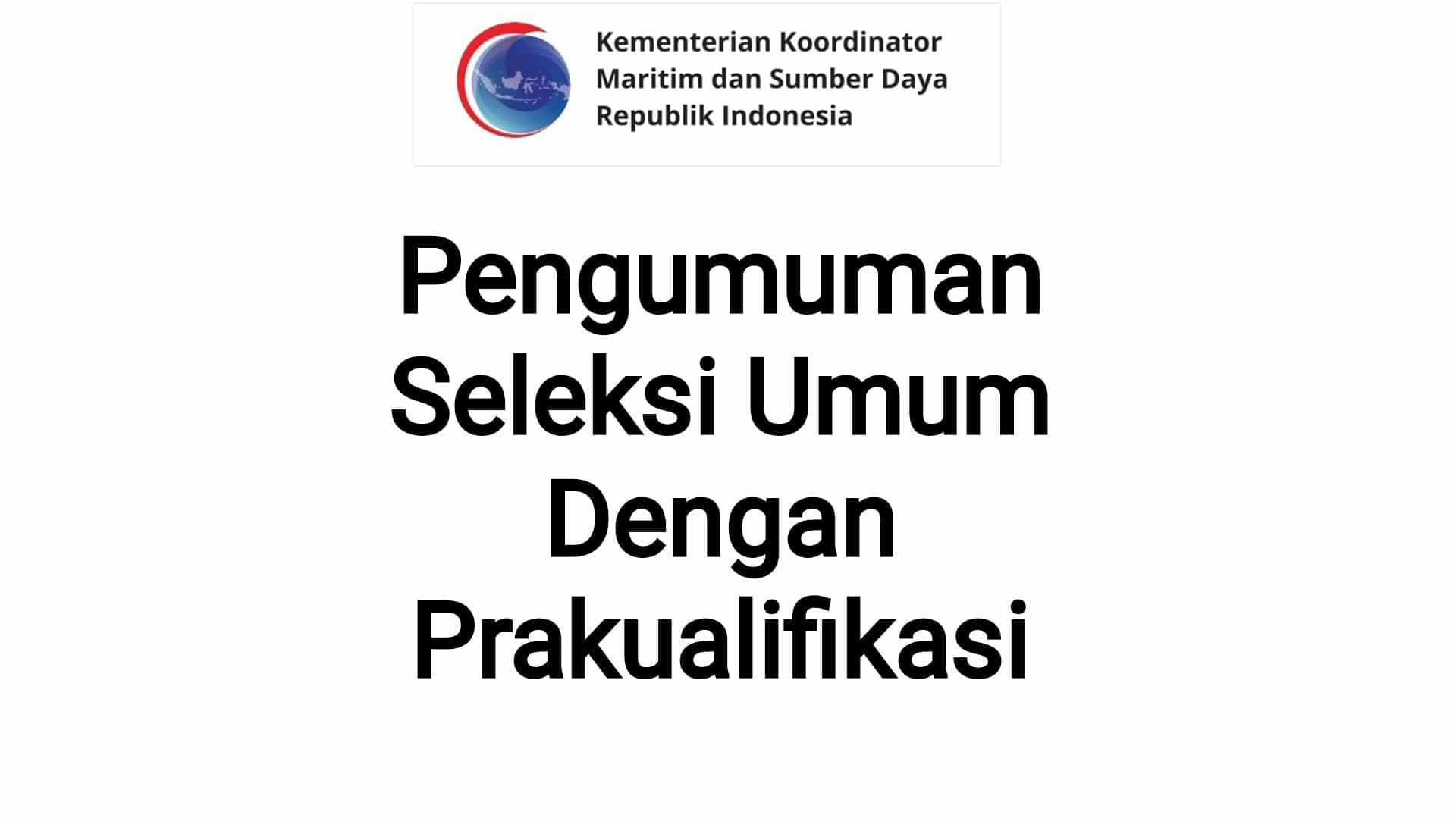 Seleksi Umum dengan Prakualifikasi Jasa Konsultansi Renovasi Gedung