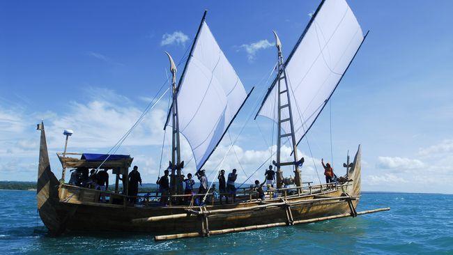 Kapal 'Spirit of Majapahit' Adalah Rekonstruksi dari Abad 13