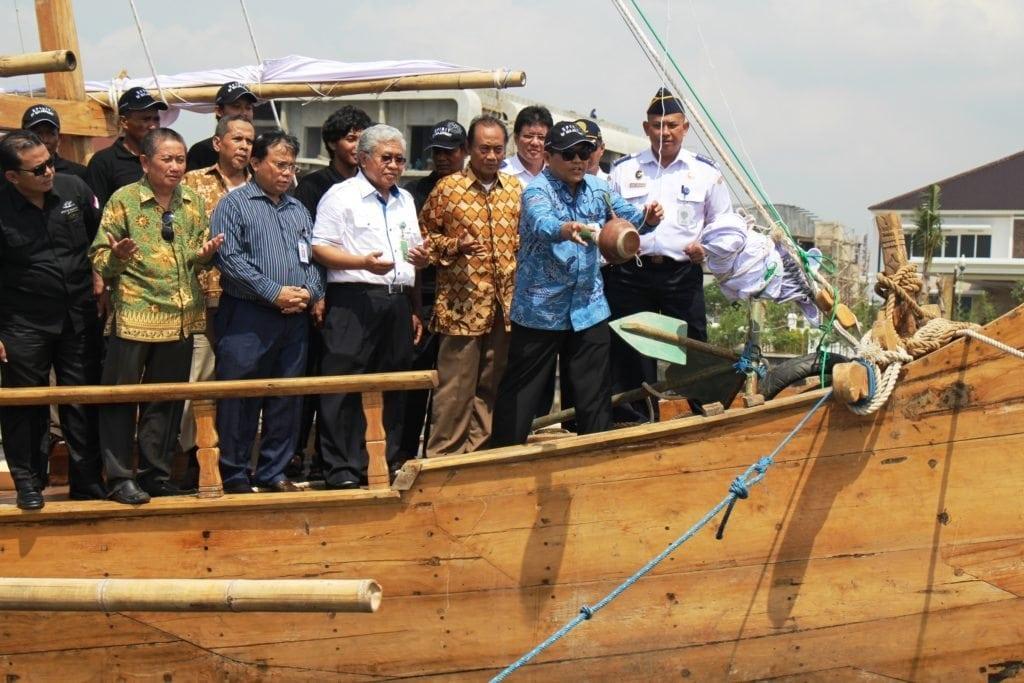 Ini Dia Rute Pelayaran 'Spirit of Majapahit'