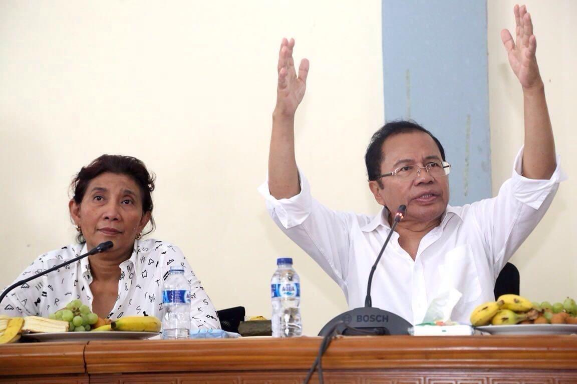 Menko Rizal: Pengembang Bikin Aturan Sendiri Kita Sikat