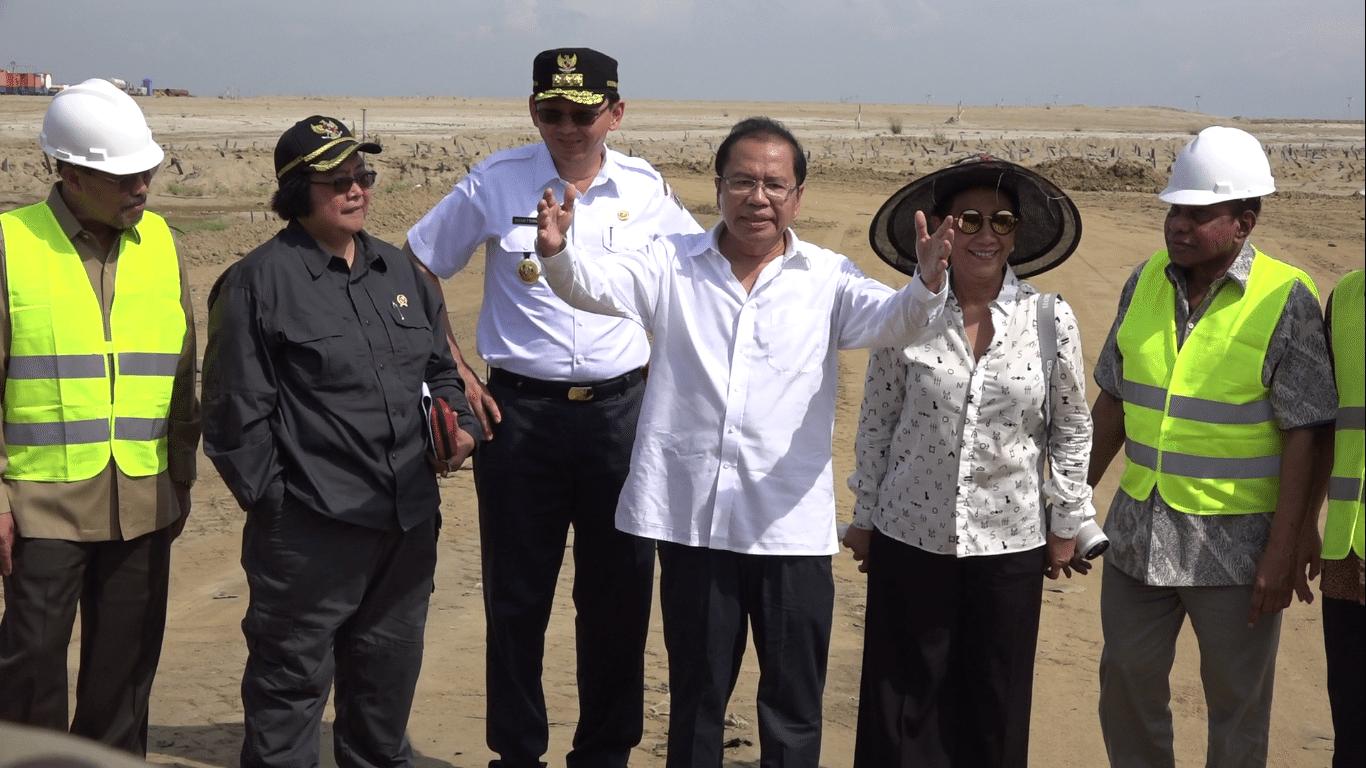 Konferensi Pers: Rizal Ramli Sidak ke Pulau Reklamasi C dan D