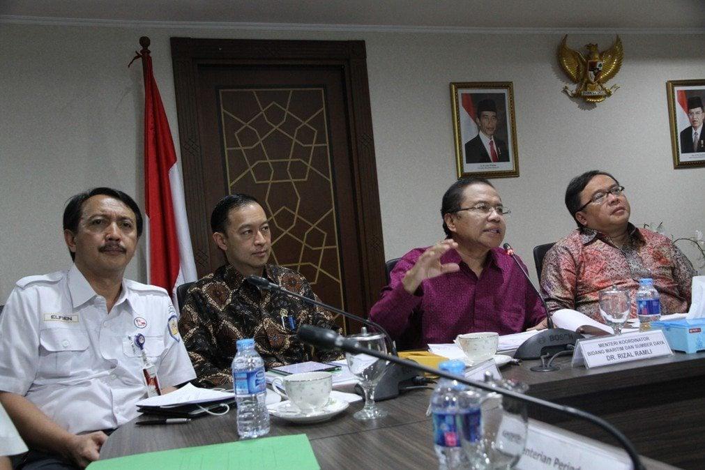 Rapat Koordinasi Tindak Lanjut Pelaksanaan Tol Laut