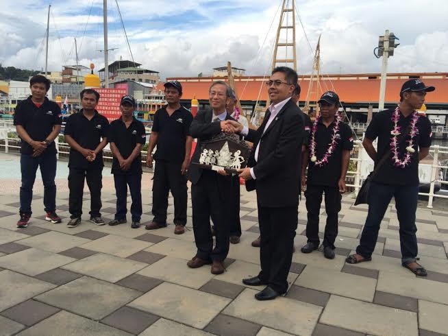 Kisah Perjalanan Kapal Spirit of Majapahit Sampai di Taiwan