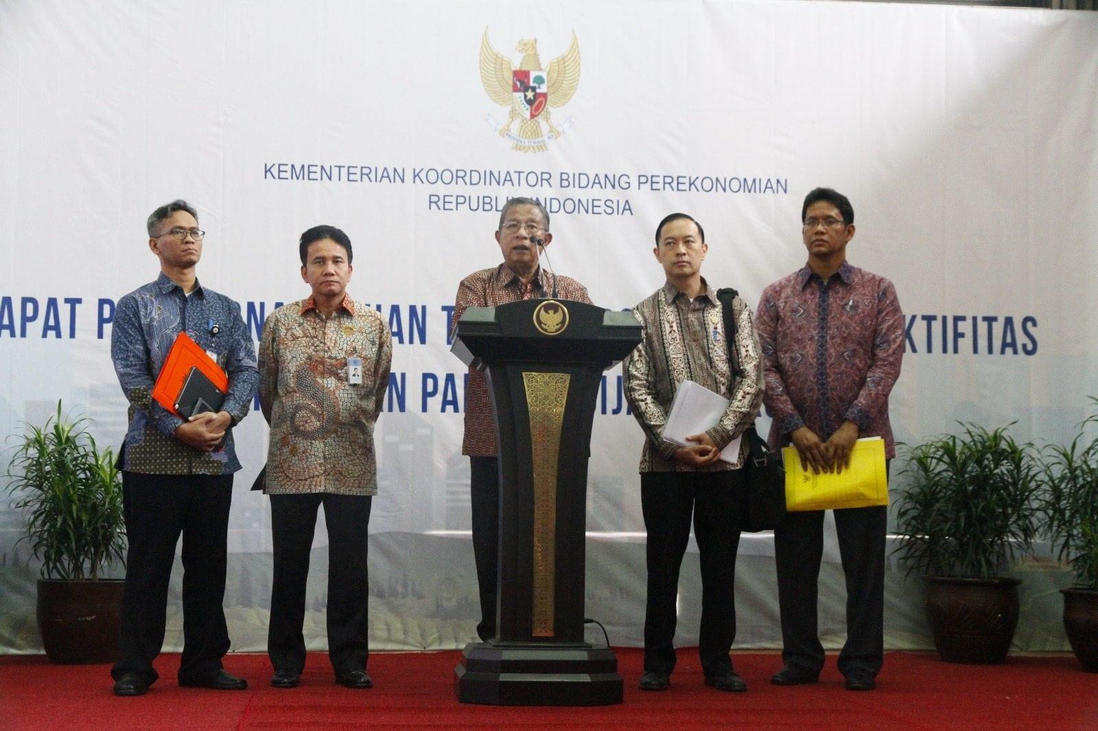 Wakil Presiden Meresmikan Satgas Percepatan dan Efektivitas Pelaksanaan Kebijakan Ekonomi
