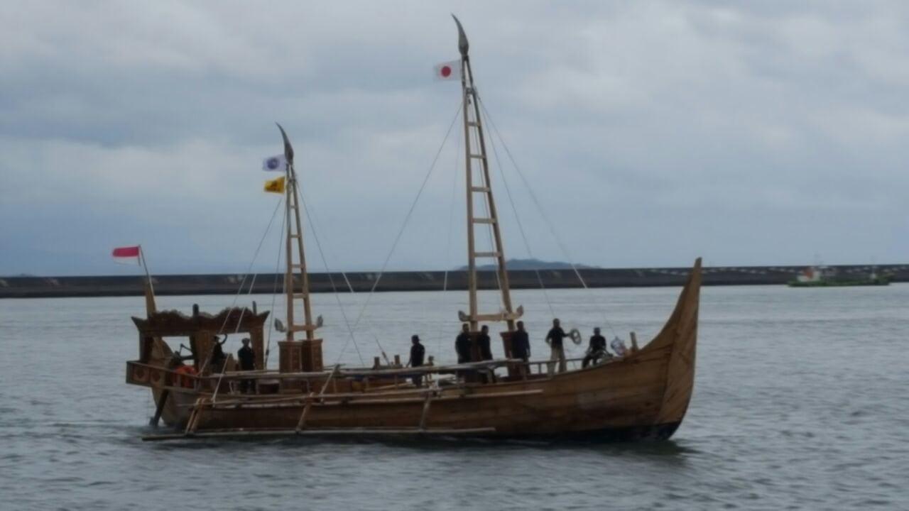 Kapal Spirit of Majapahit Bersiap Menuju Tujuan Akhir