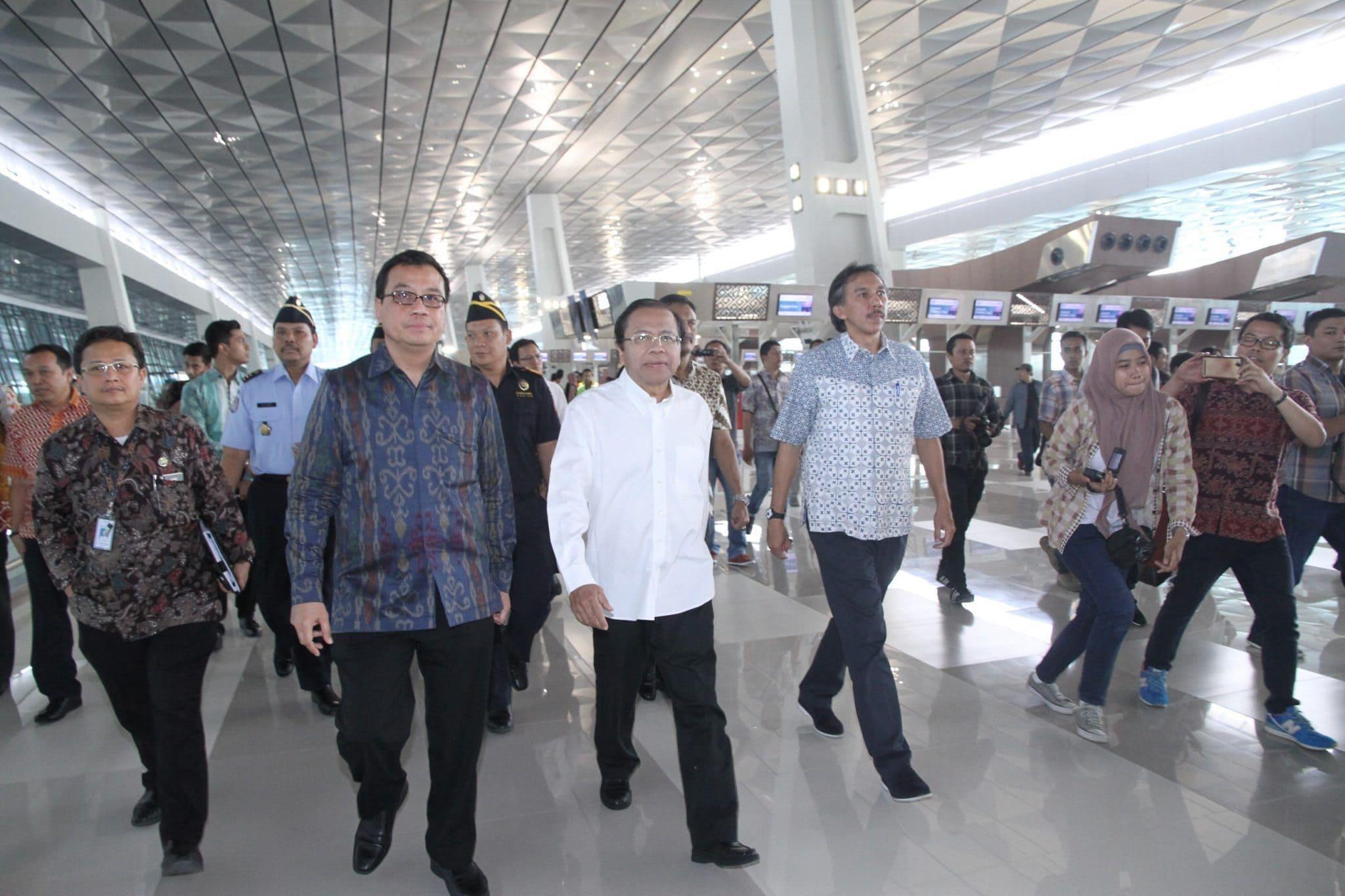 Rizal Ramli Ingin Terminal III Bantu Kelancaran Arus Mudik 2016