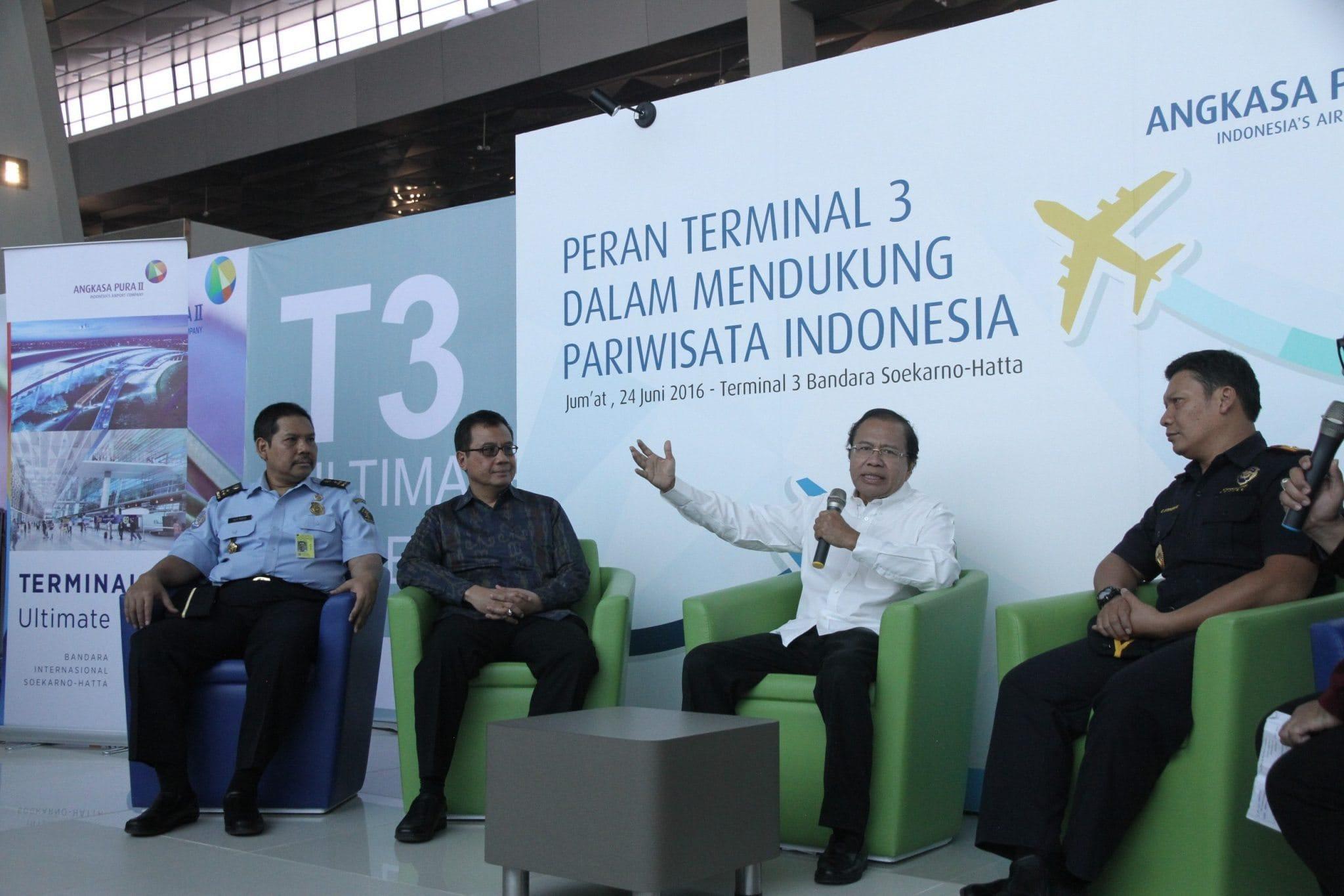 RR: Terminal III Bandara Soetta Bisa Diadu dengan Changi Airport Singapura