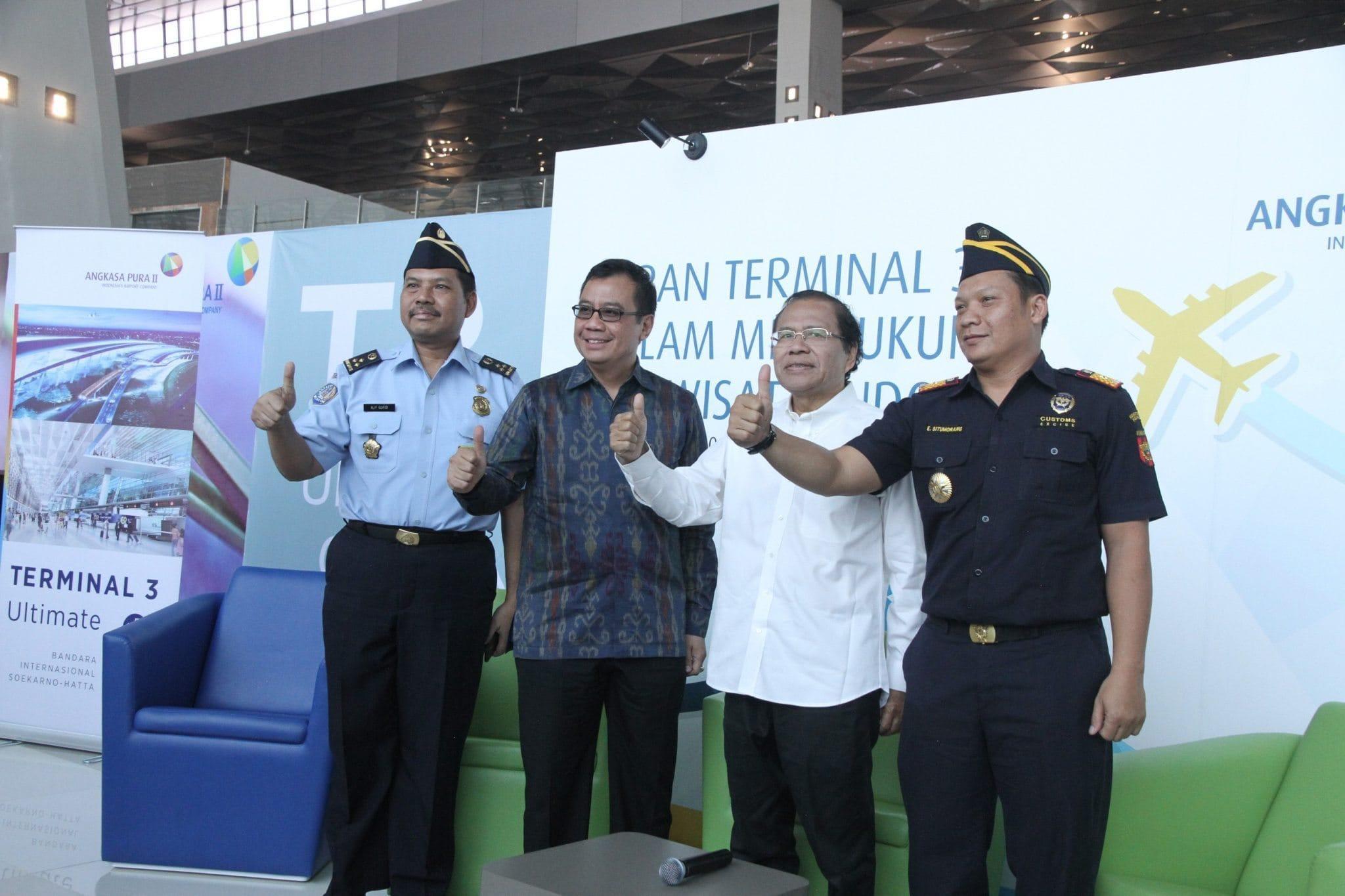 Rizal Ramli Puas Dengan Keberadaan Terminal 3 Ultimate Bandara Soetta