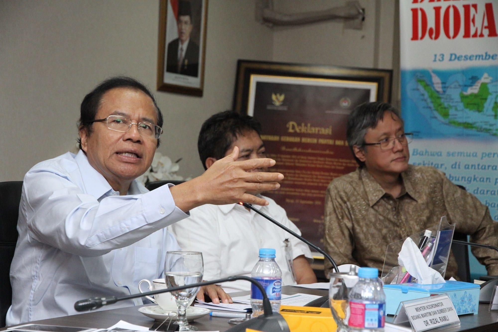 Menko RR: Presiden Minta Negara Atur Reklamasi, Bukan Kepentingan Pribadi