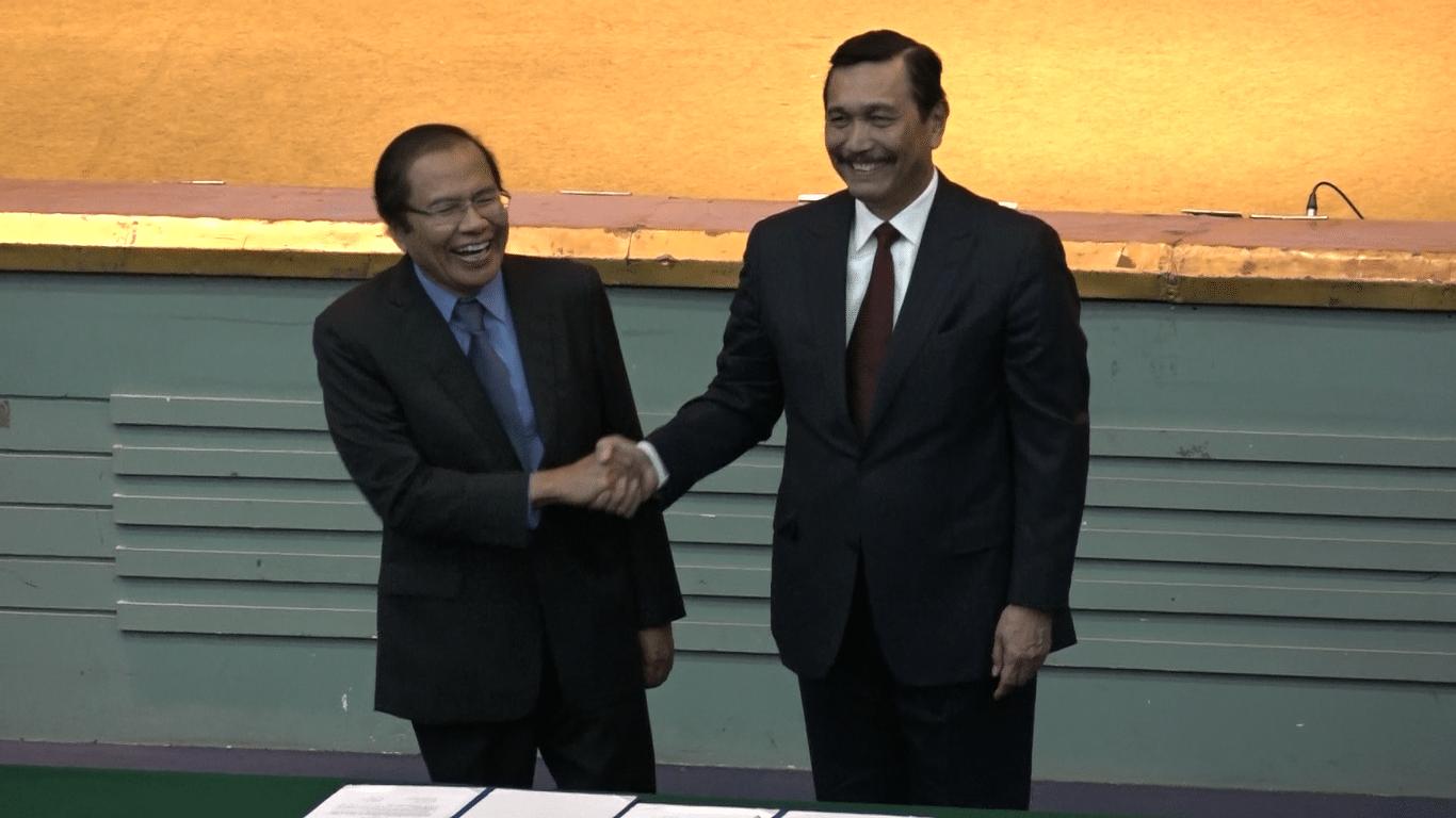 Serah Terima Jabatan Menteri Koordinator Bidang Kemaritiman