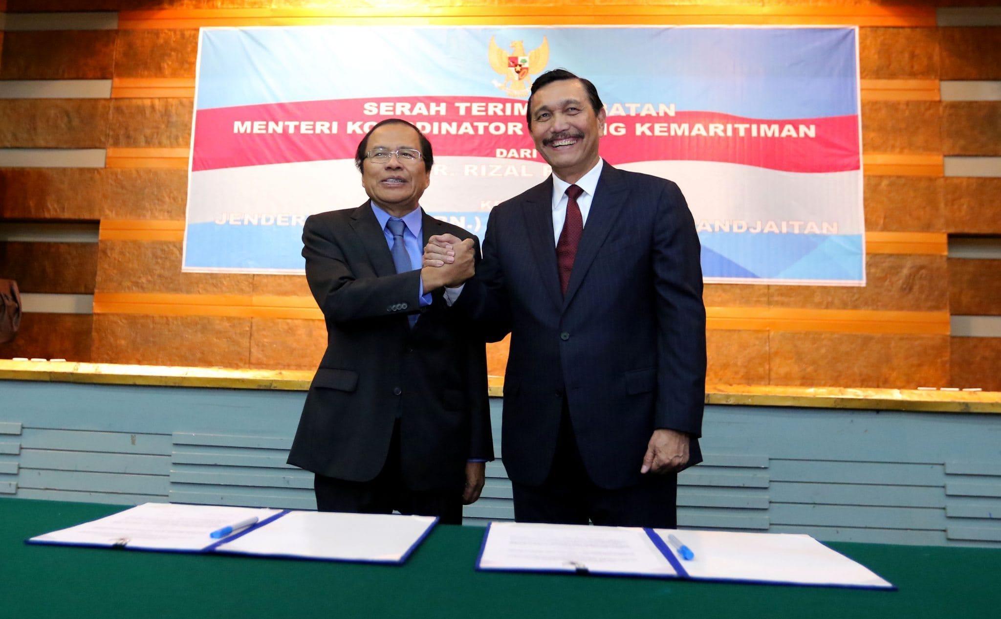 Serah Terima Jabatan Menteri Koordinator Bidang Kemaritiman Jakarta, 28 Juli 2016