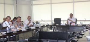Menko Maritim Luhut B. Pandjaitan hari Rabu (24/8) pimpin rapat Kasus Tuban TPPI, dihadiri kepala SKK Migas Amien Sunaryadi, dari Bareskrim Polri Agung Setya, dan Wakabaharkam Eko Hadi S.