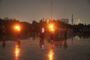 Menteri Koordinator Bidang Kemaritiman Luhut B. Pandjaitan menghadiri Apel Kehormatan dan Renungan Suci yg di pimpin langsung oleh Presiden RI Joko Widodo di Taman Makam Pahlawan Kali Bata, Jakarta 16 Agustus 2016