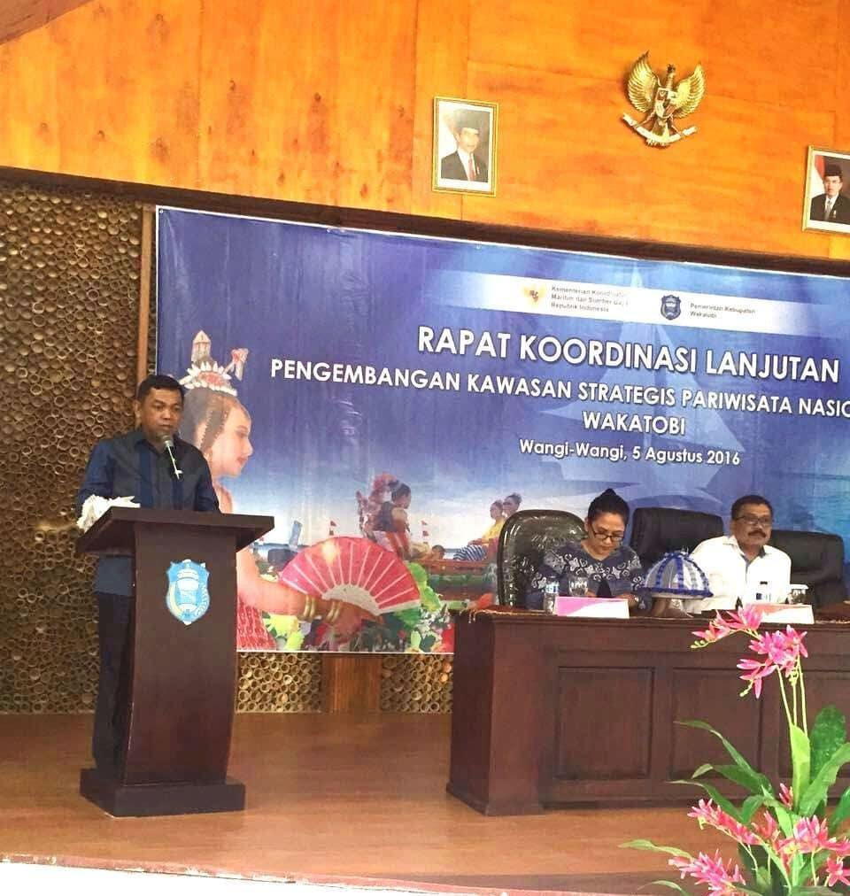 Rakor Lanjutan Pengembangan Kawasan Strategi Pariwisata Nasional