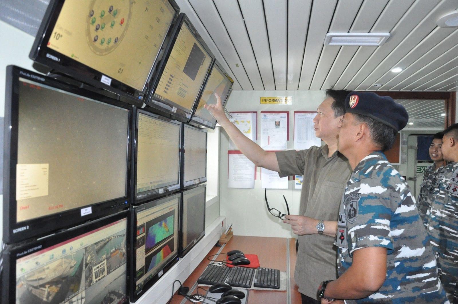 Survei Bersama Kemenko Bidang Kemaritiman dan TNI-AL di Selat Sunda