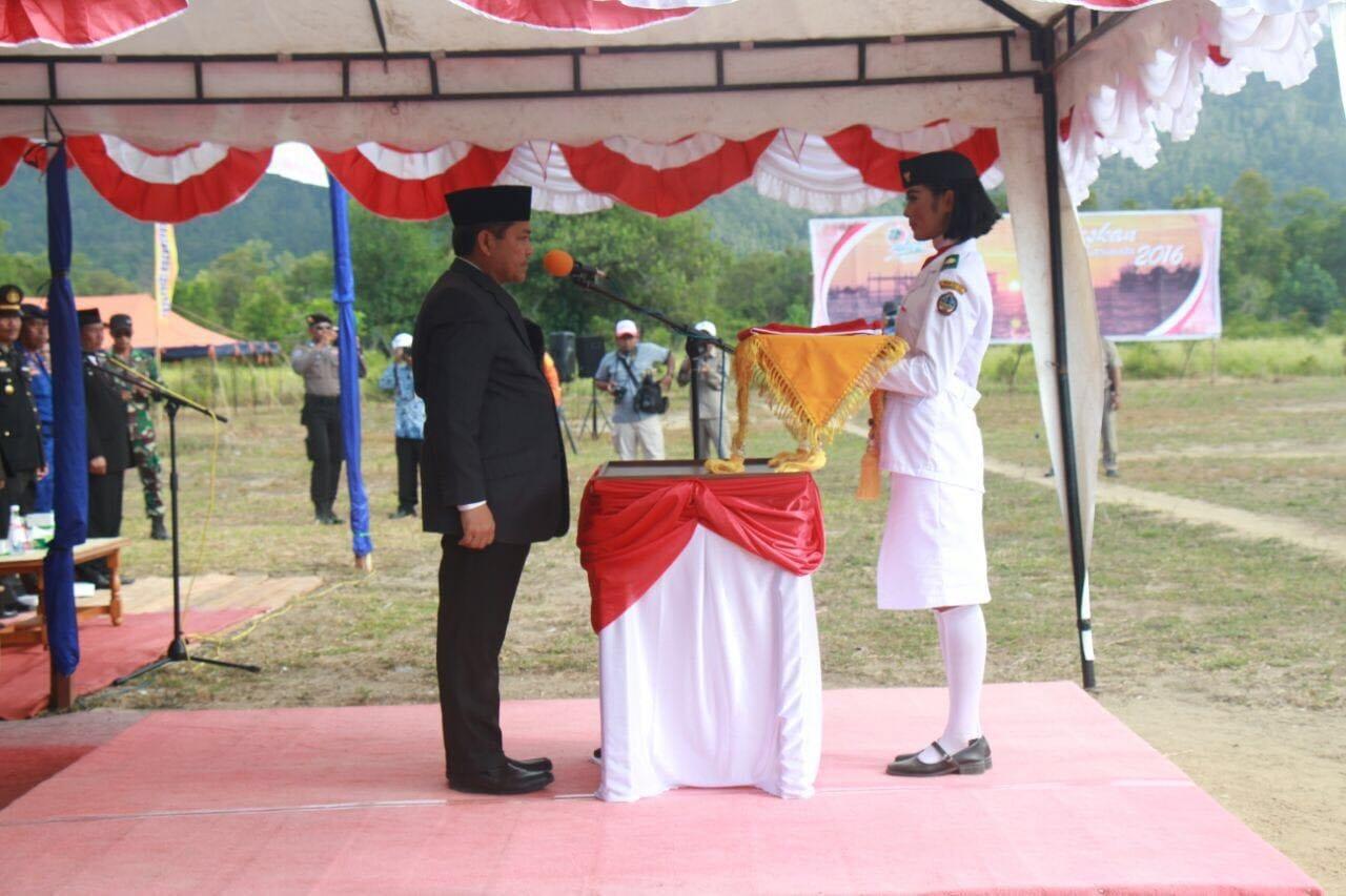 Peringatan Hari Kemerdekaan HUT RI ke 71 di Pulau Karimata