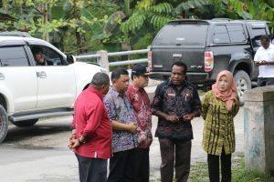 Kunjungan ke Lokasi Rencana Pembangunan Ice Flake Machine Skala Besar di Kab. Sorong Selatan (1/9)